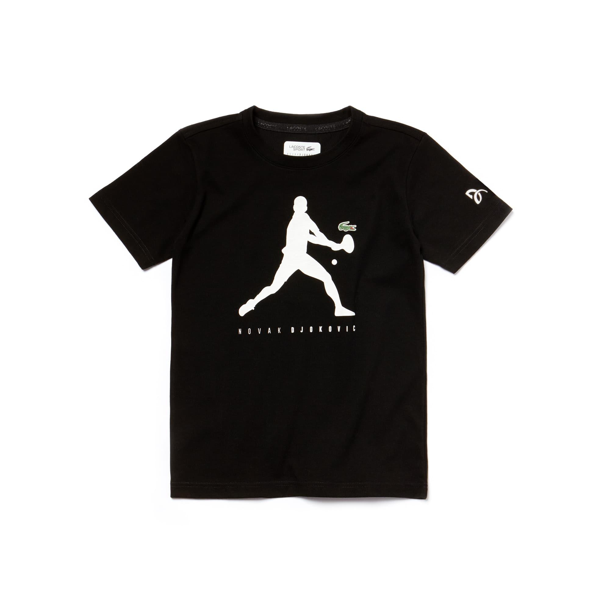 Boys' SPORT Technical Jersey T-shirt - Novak Djokovic Supporter Collection