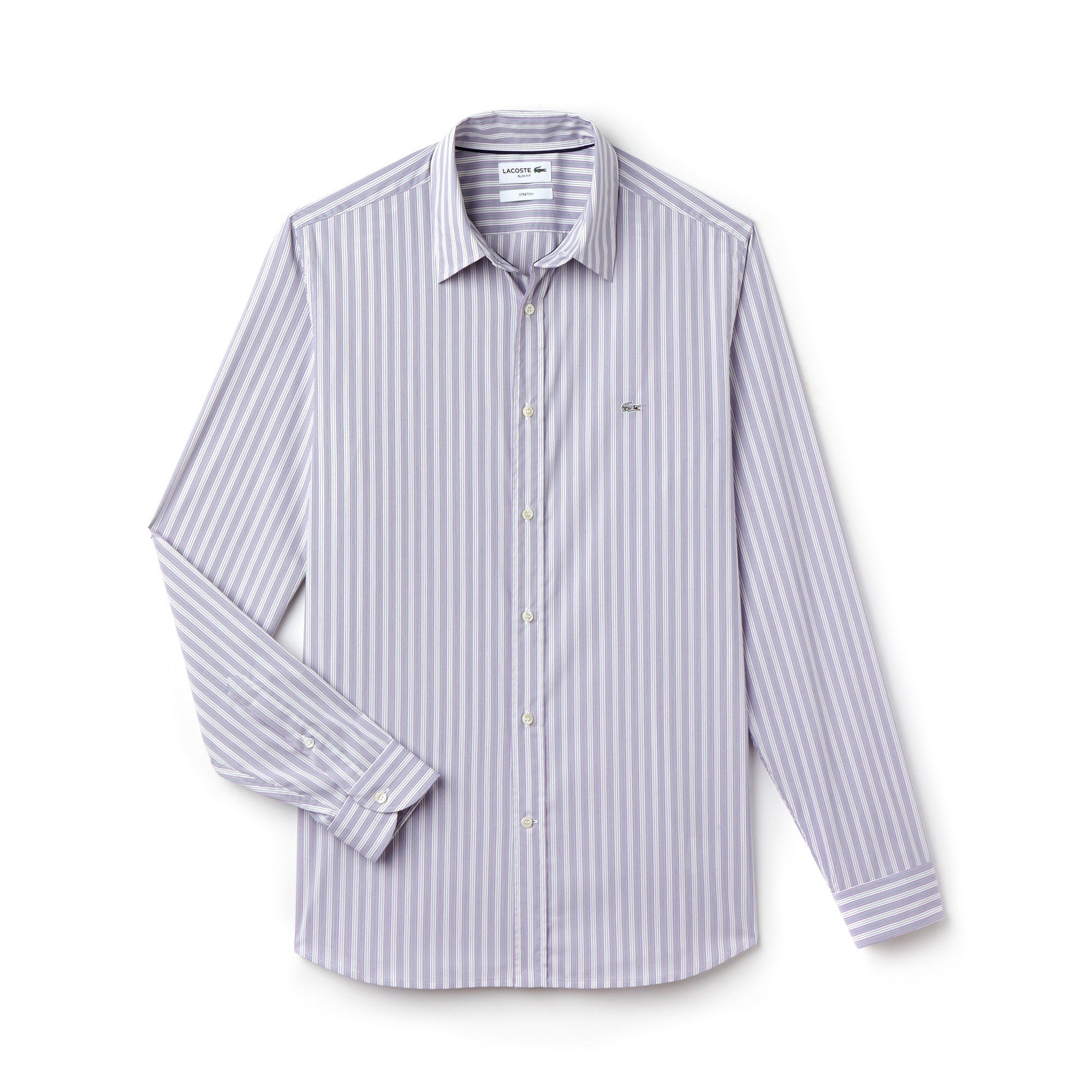 Men's City Striped Stretch Poplin Shirt