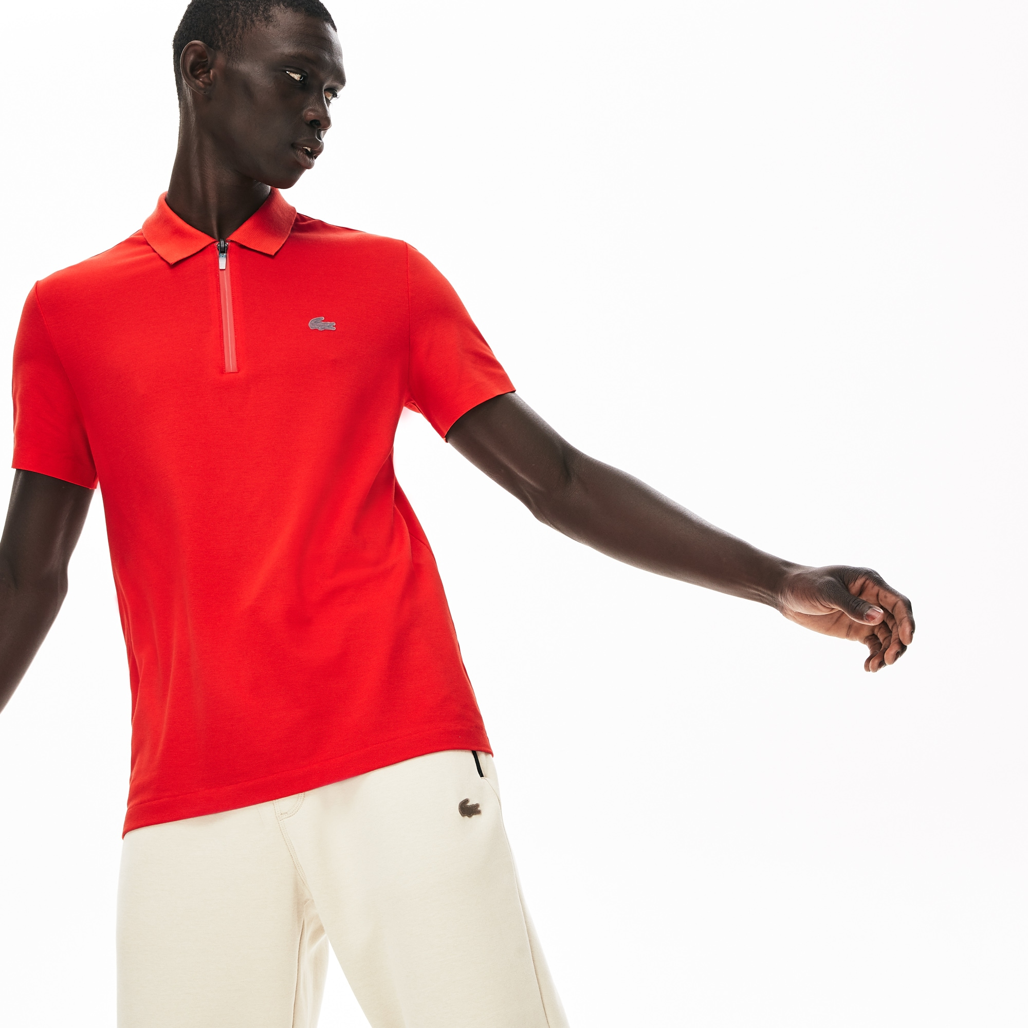 Men's Motion Ultra-Lightweight Cotton Polo