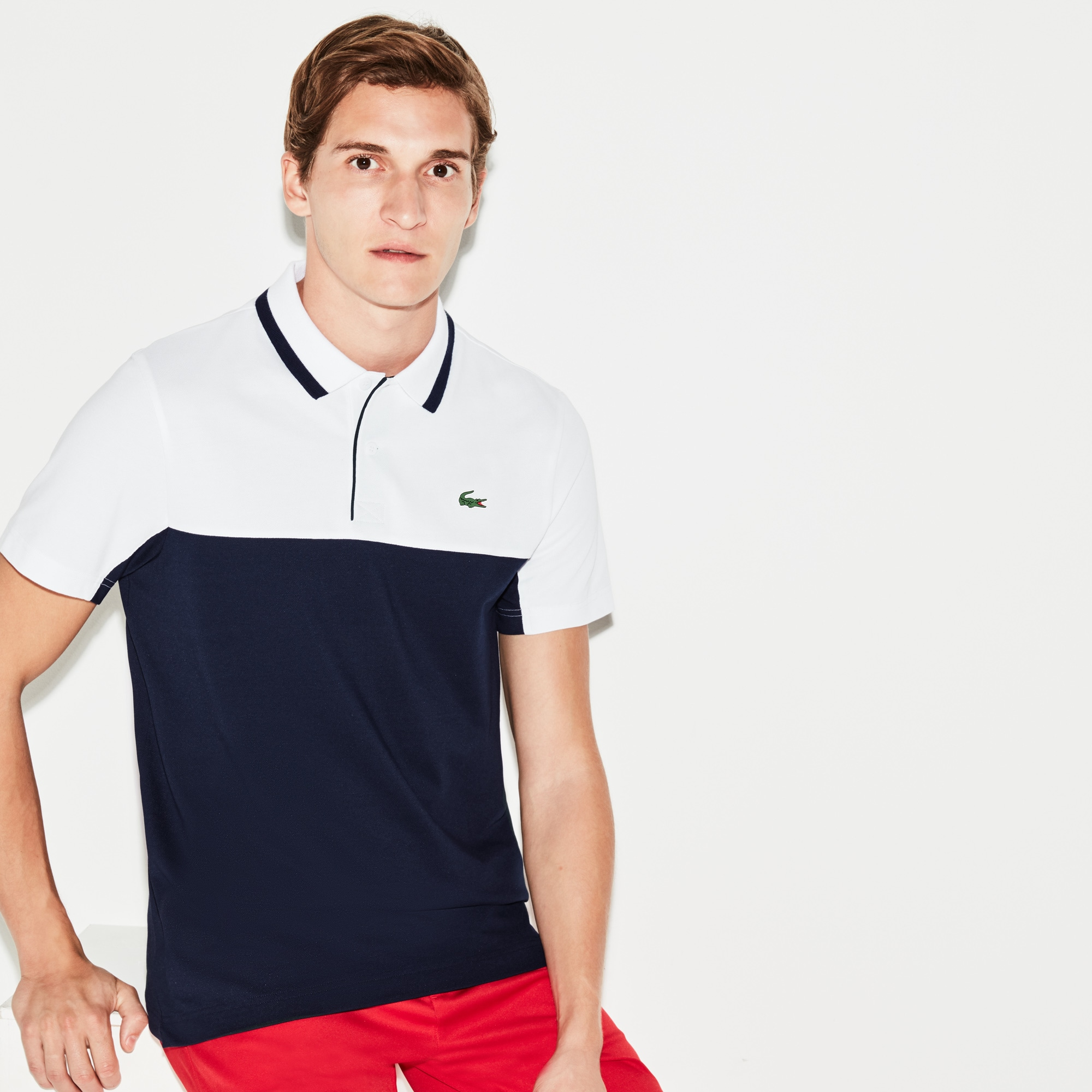 Men's SPORT Petit Piqué Golf Polo
