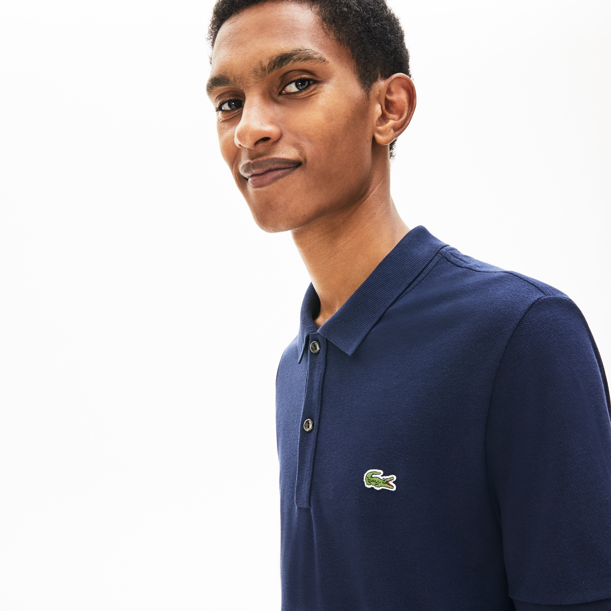 Lacoste Tops Men's Regular Fit Thermoregulating Piqué Polo Shirt