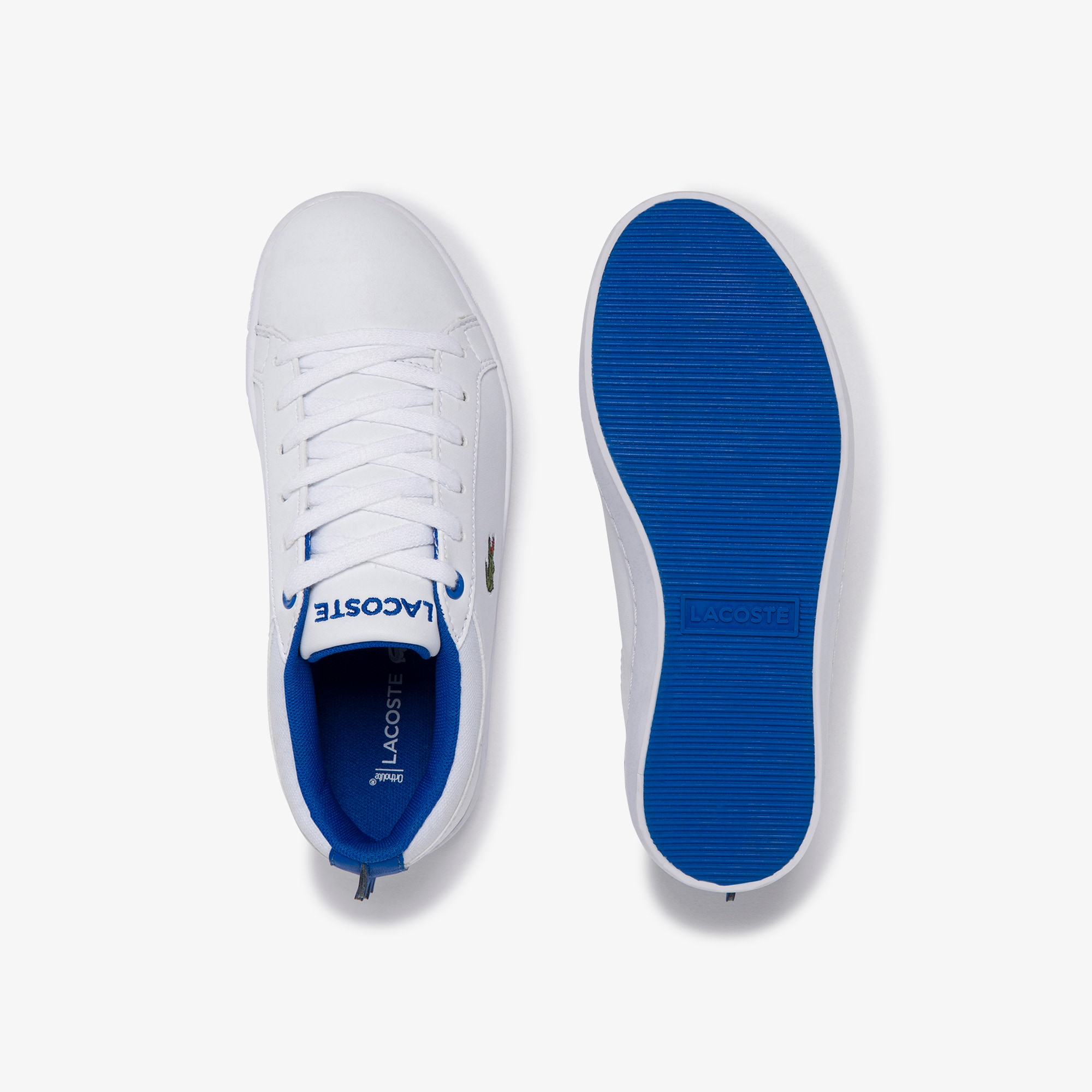Children's Straightset Lace-up Synthetic and Textile Sneakers