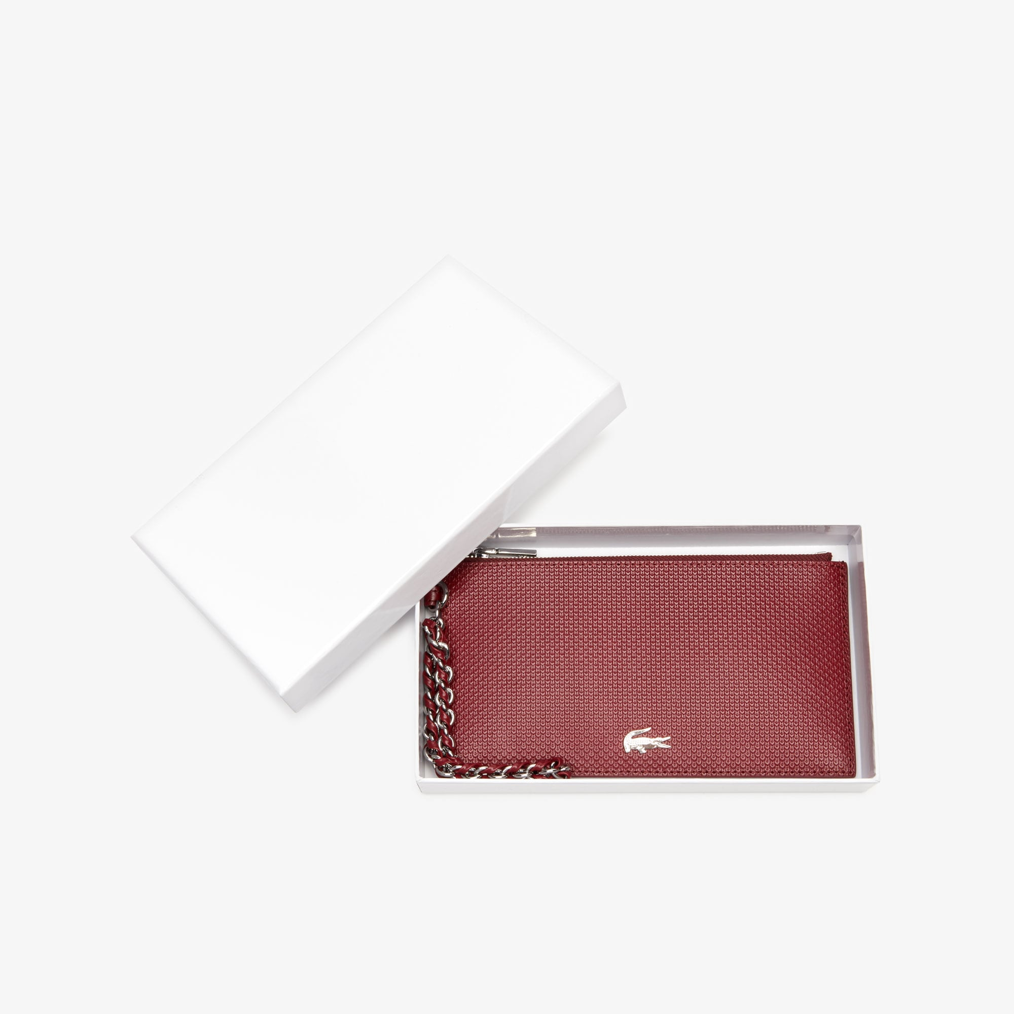 Women's Chantaco Piqué Leather Zip Coin Pouch