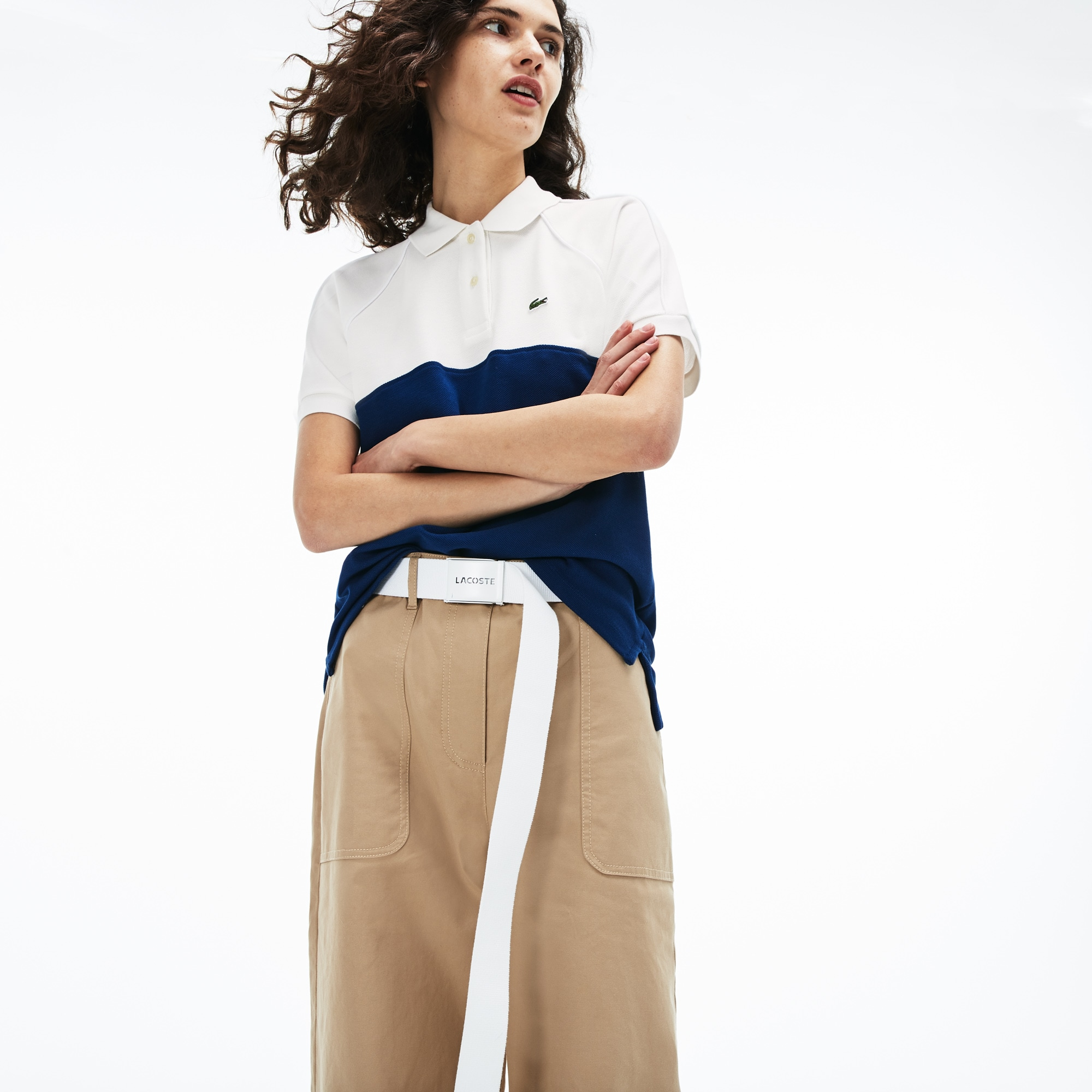 280db5116cc8 + 2 colors. New. Women s Slim Fit Petit Piqué Polo Shirt