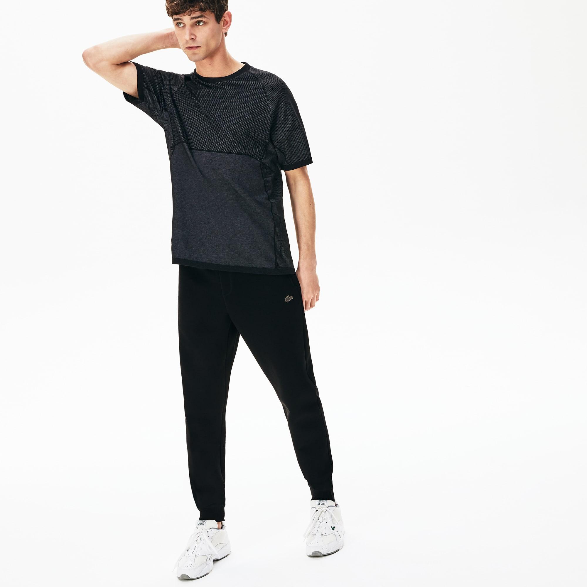 라코스테 모션 스트레치 트랙 팬츠 - 블랙 Lacoste Men's Motion Stretch Track Pants
