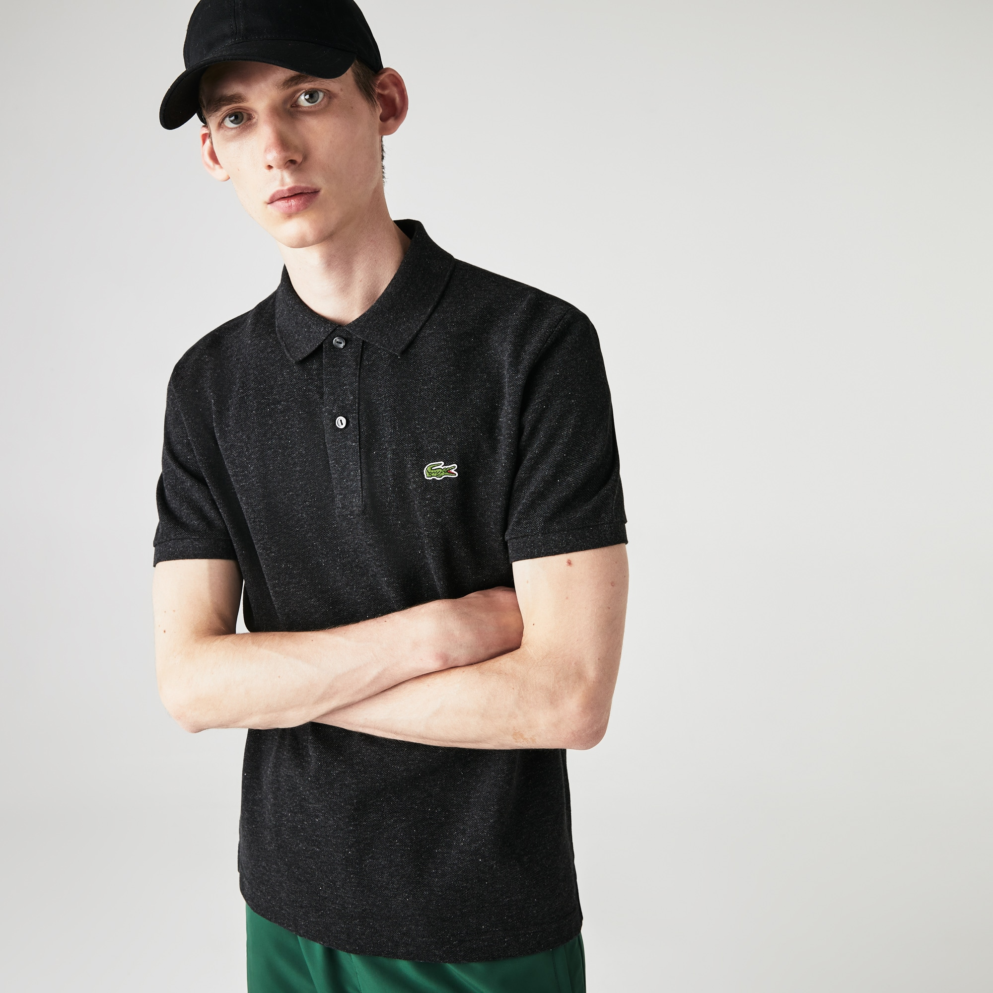 Men's Petit Piqué Slim Fit Polo Shirt