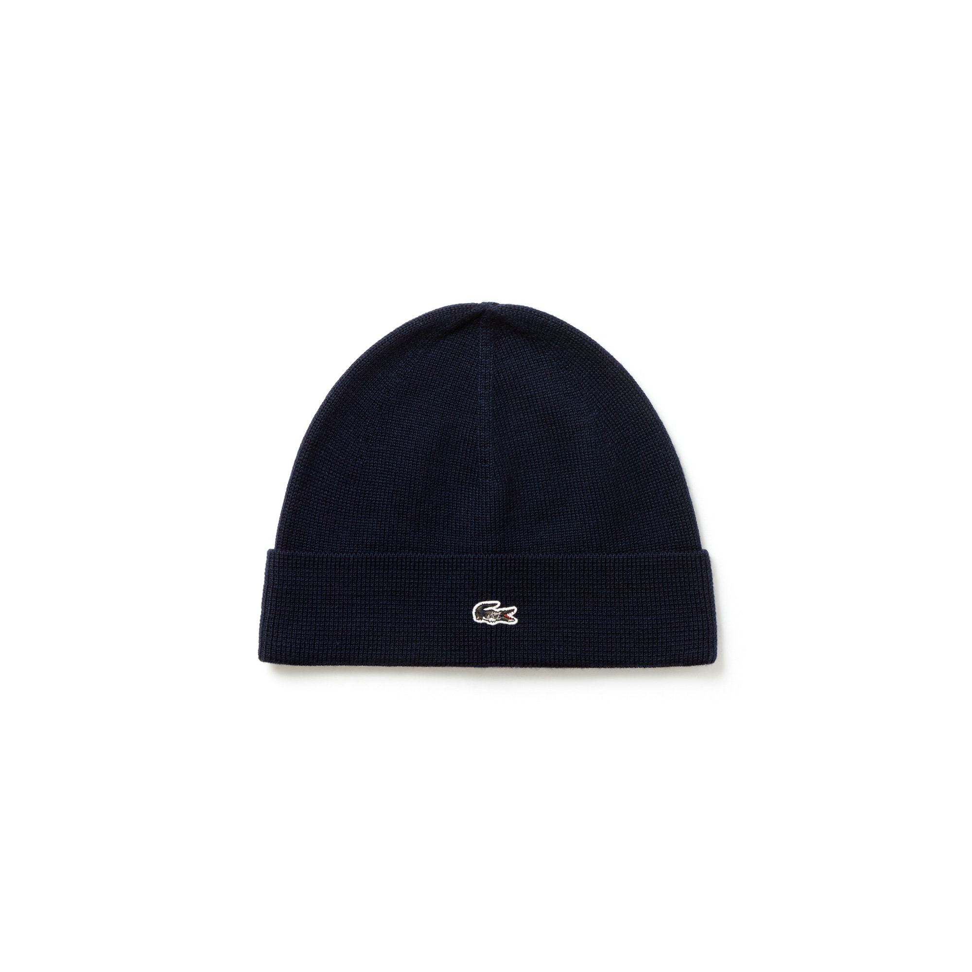 Men's Turned Edge Wool Jersey Beanie