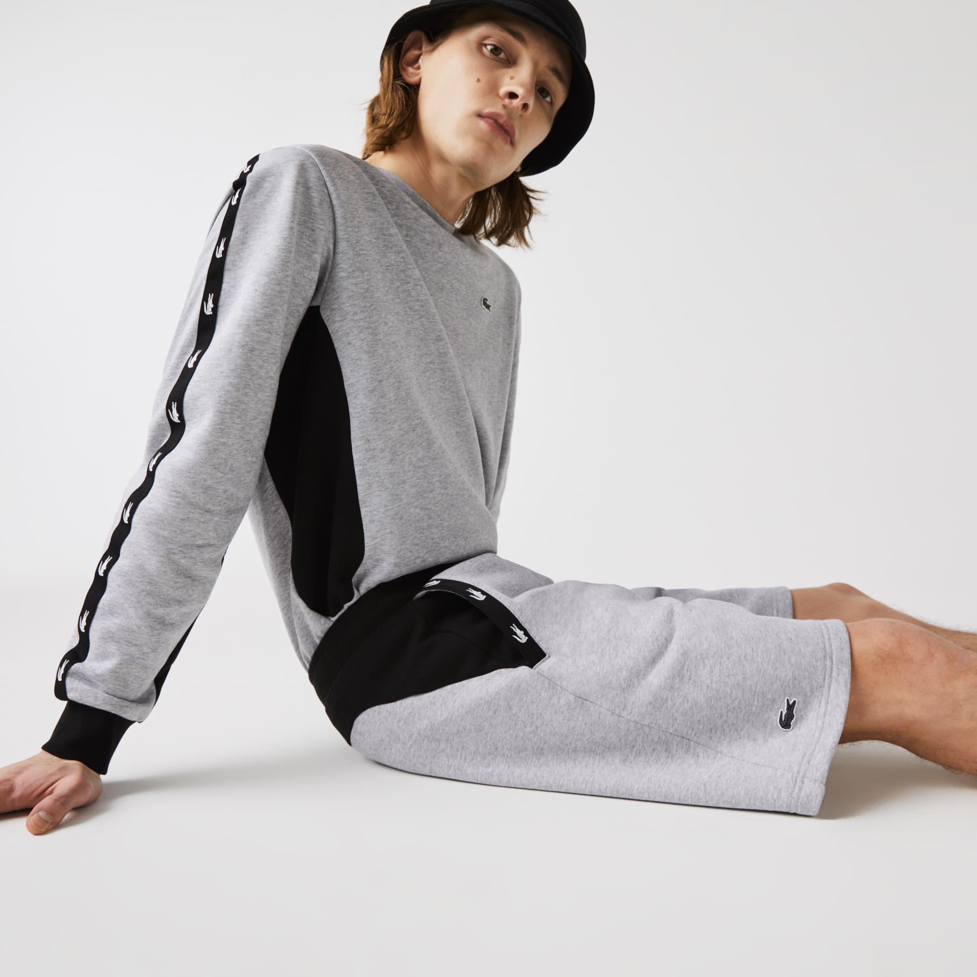 라코스테 Lacoste Men's Contrast Fleece Shorts