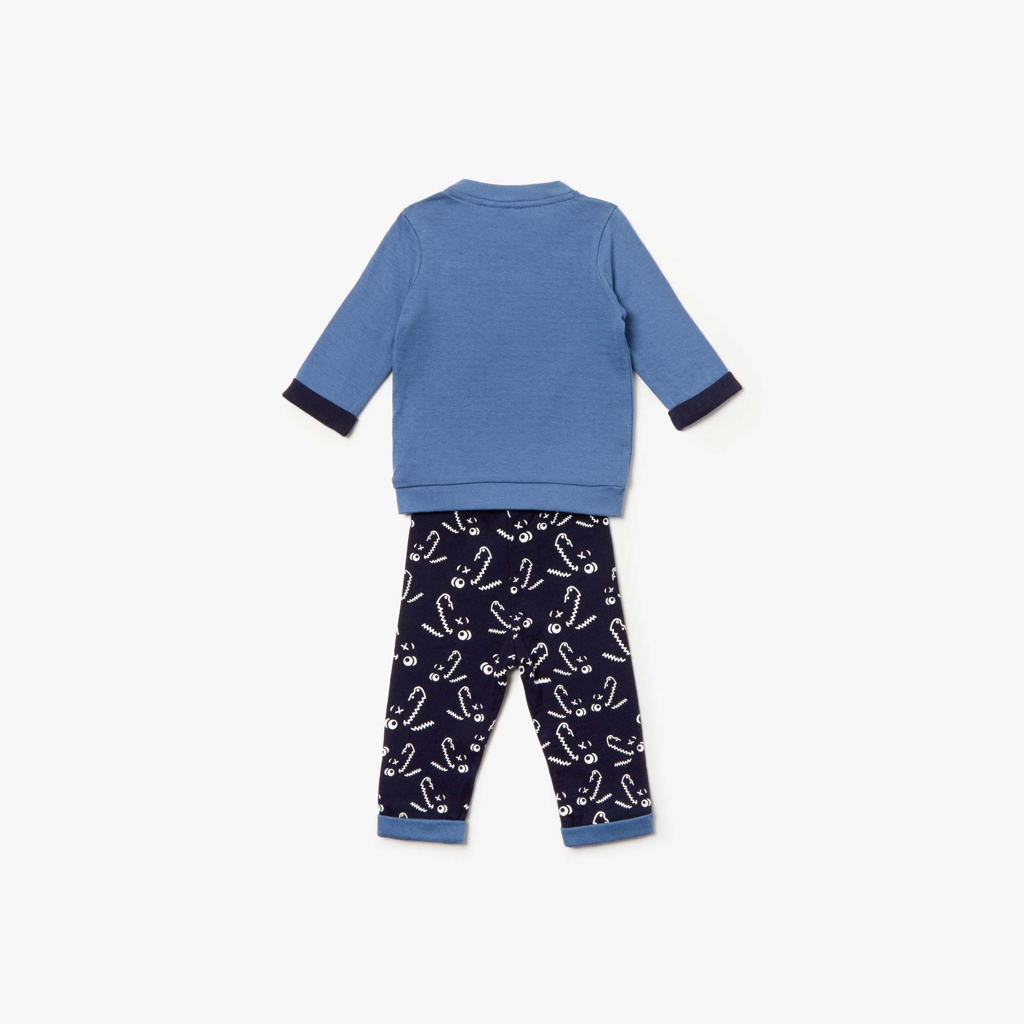 Baby Boys' T-shirt And Printed Pants Pajama Gift Set