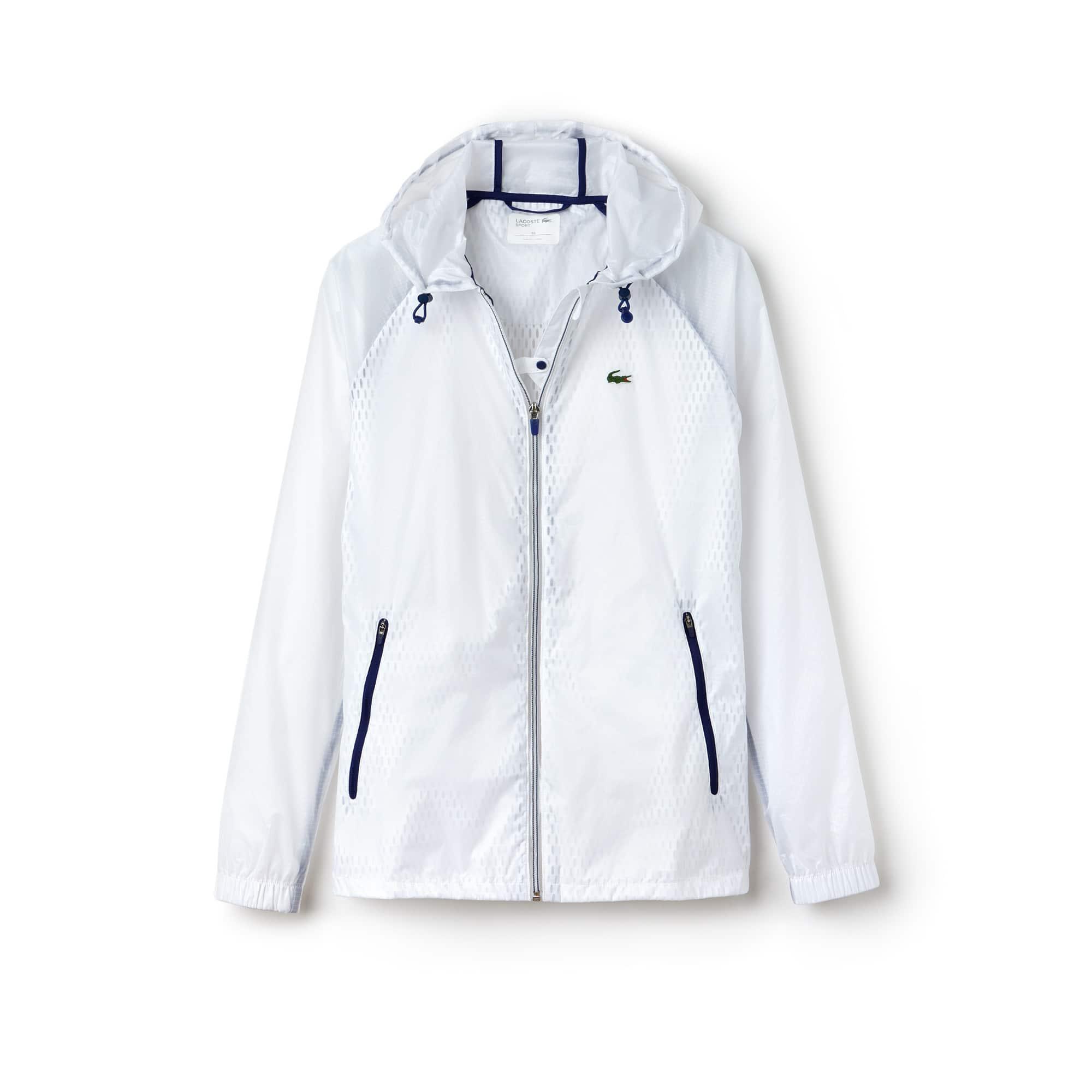 Women's  SPORT Tennis Contrast Bi-Material Zip Jacket