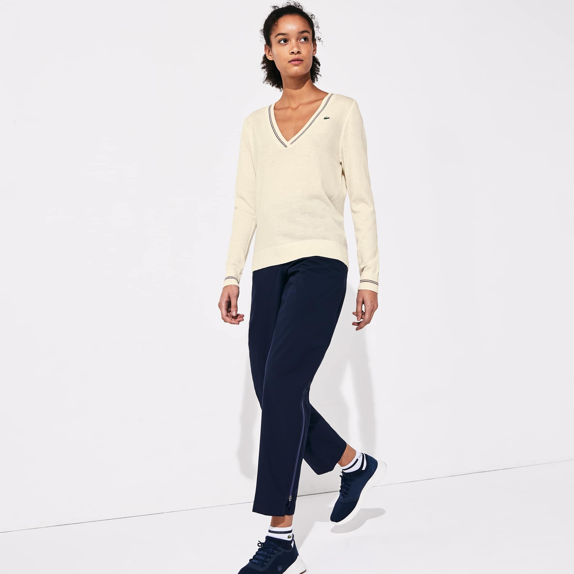 Women's SPORT Technical Wool Blend Golf Sweater
