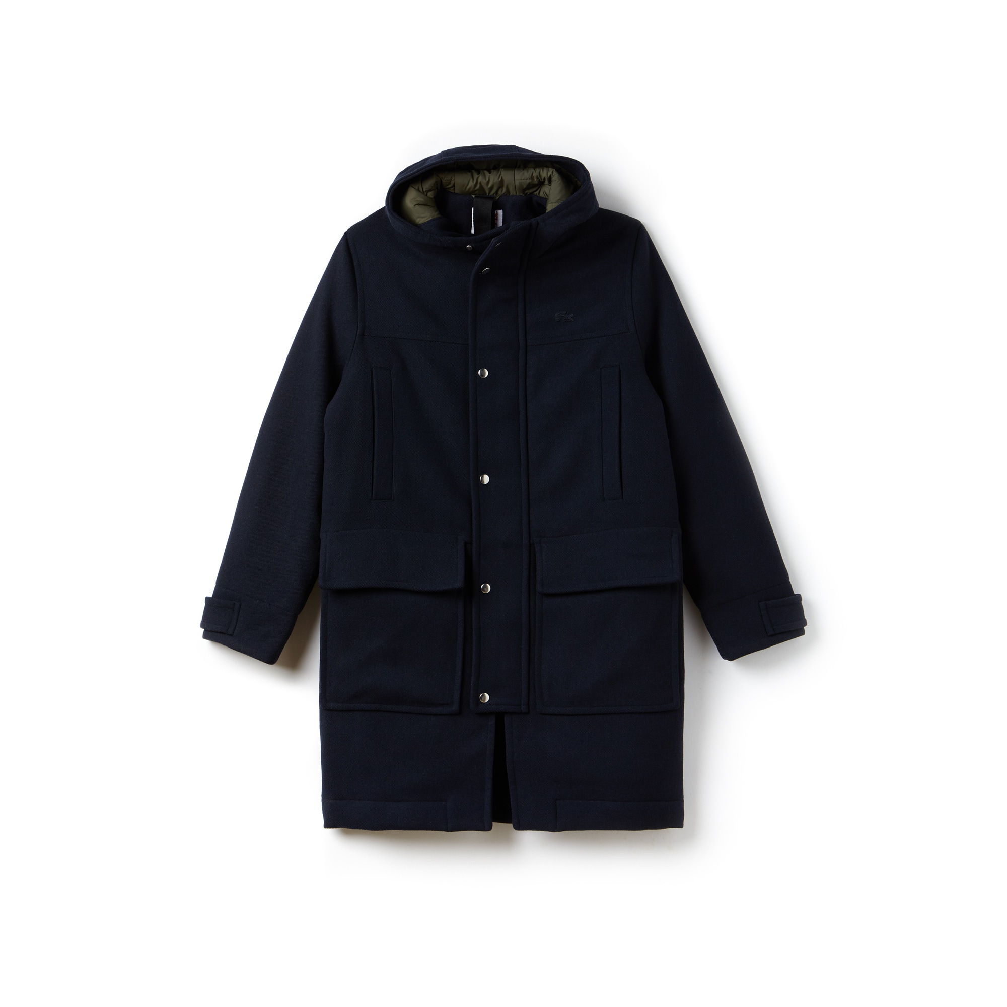 Unisex  LIVE Wool Broadcloth Duffel Coat