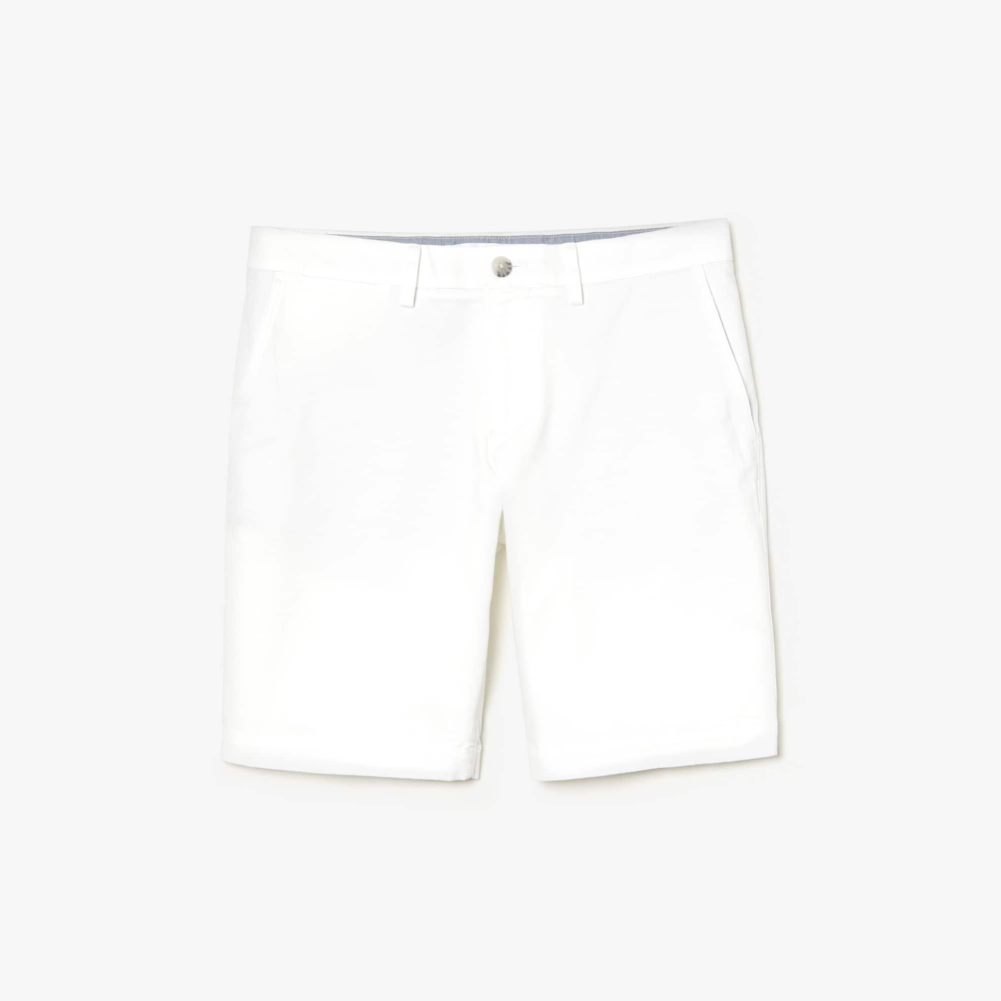eeeed7c2f0 Men's Slim Fit Stretch Gabardine Shorts