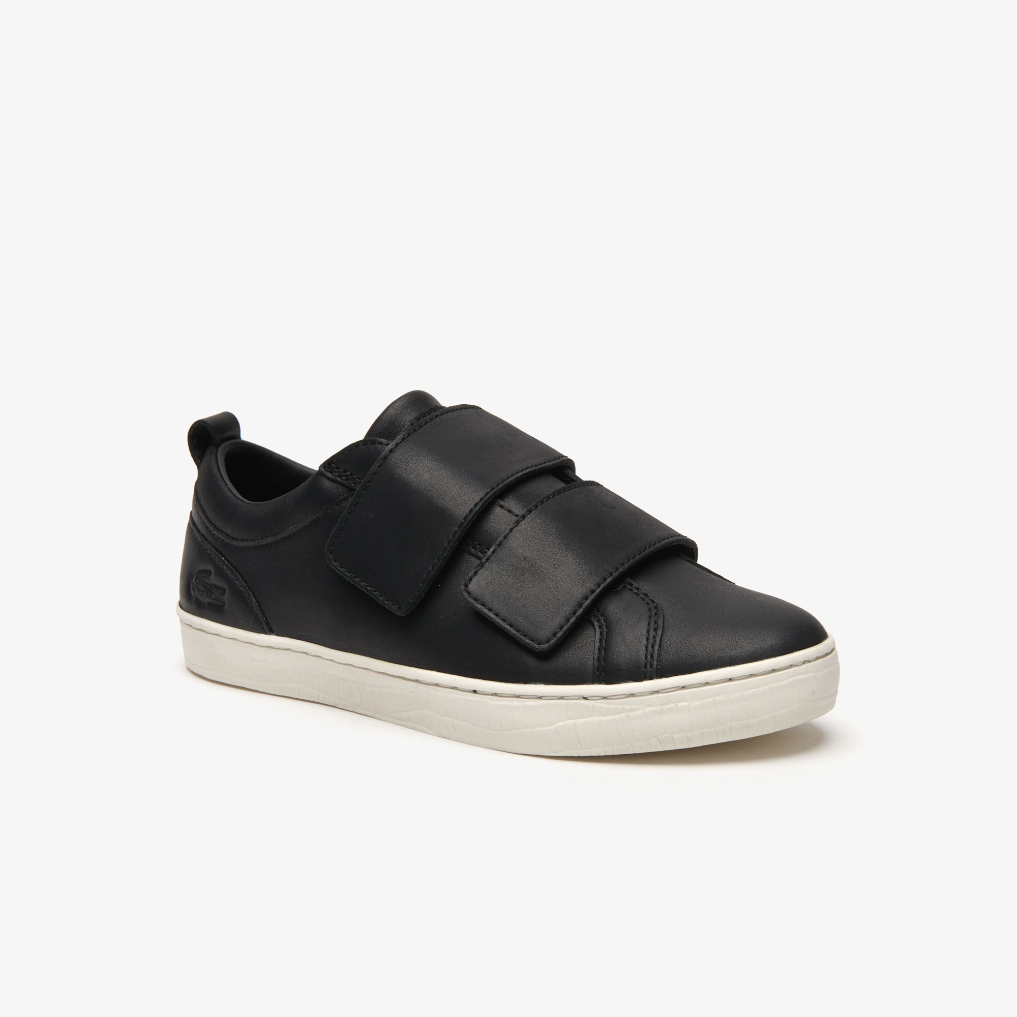 Lacoste Sneakers Women's Straightset Strap Leather Sneakers