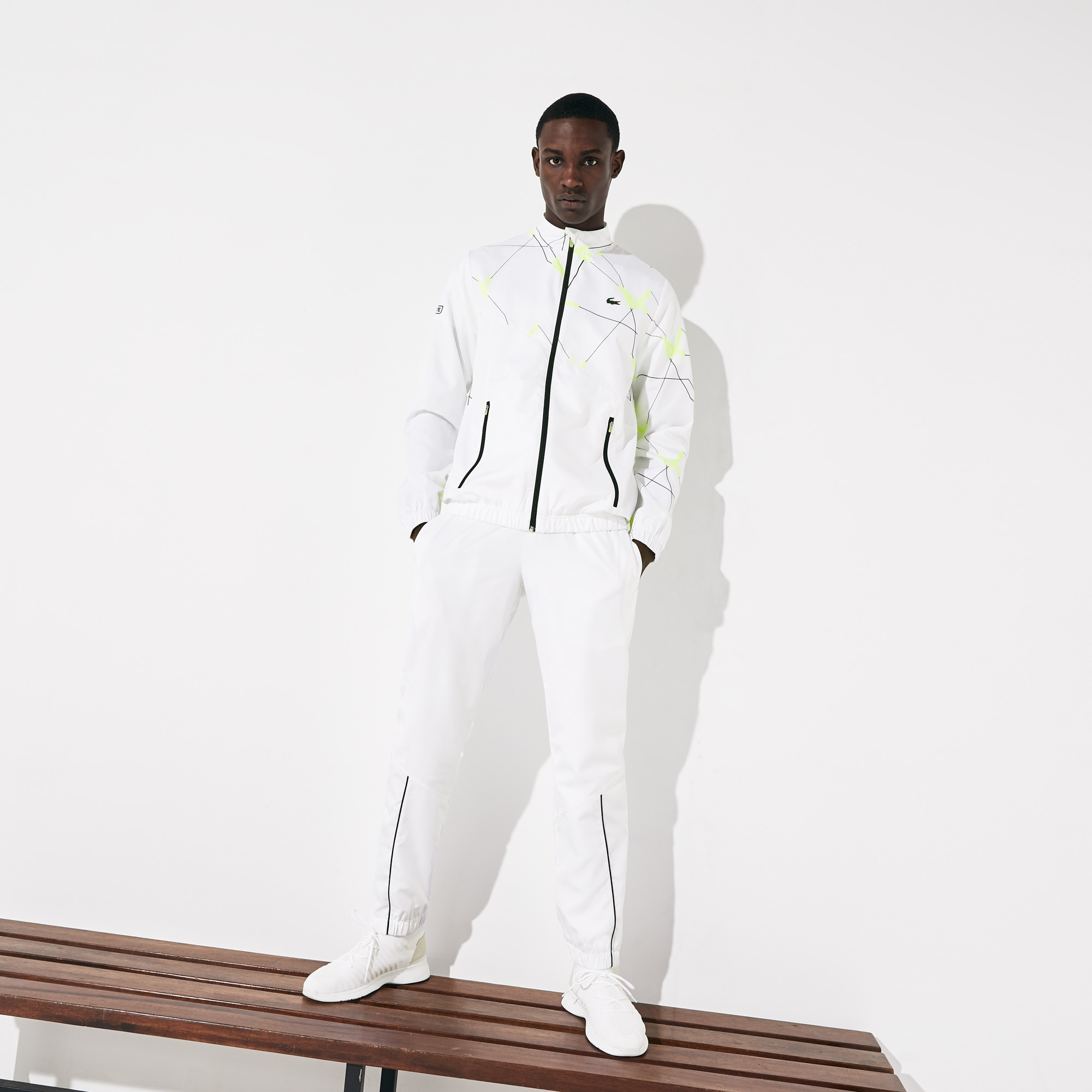 Lacoste Suits Men's SPORT Graphic Print Tennis Track Suit