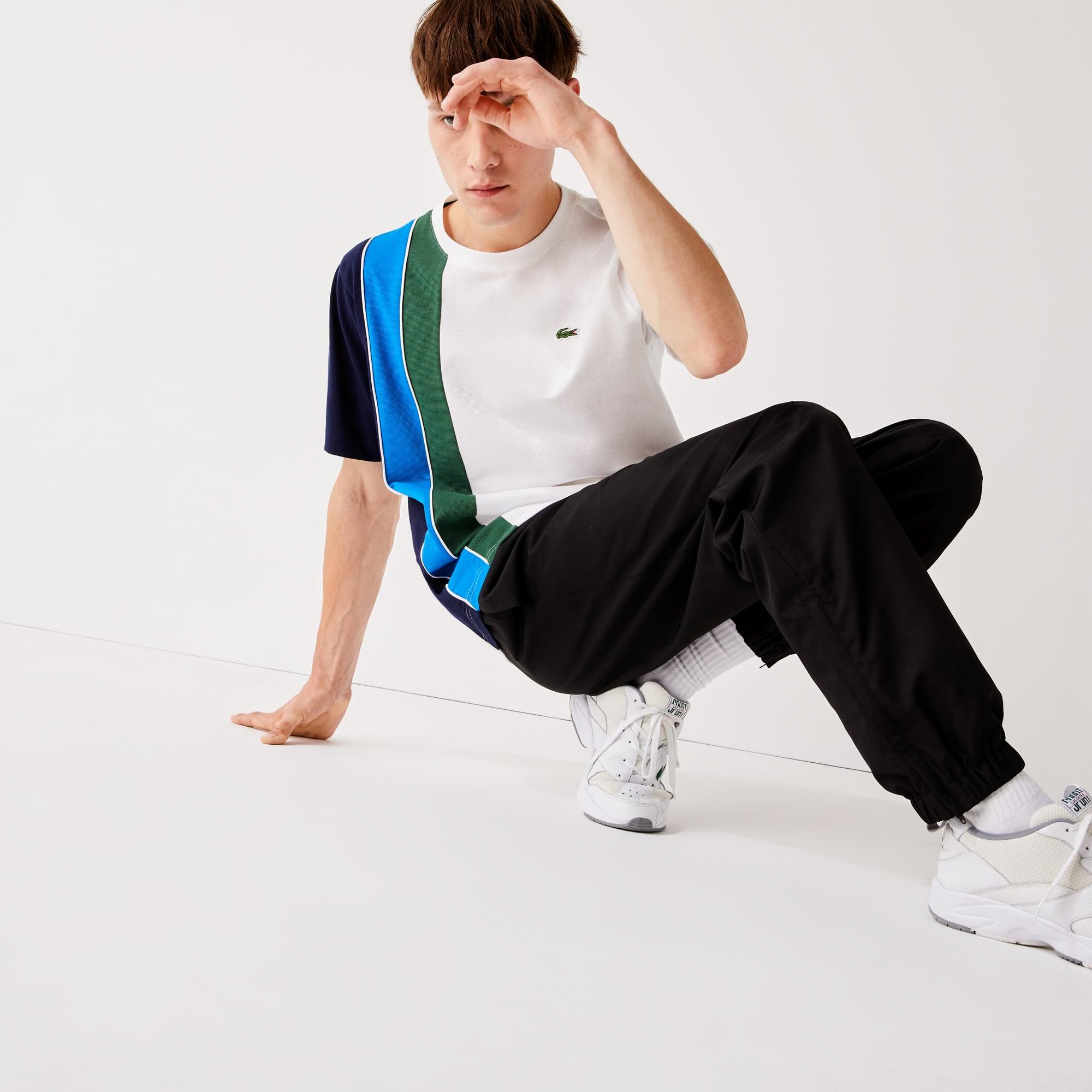 라코스테 Lacoste Men's SPORT Performance Side Zip Track Pants
