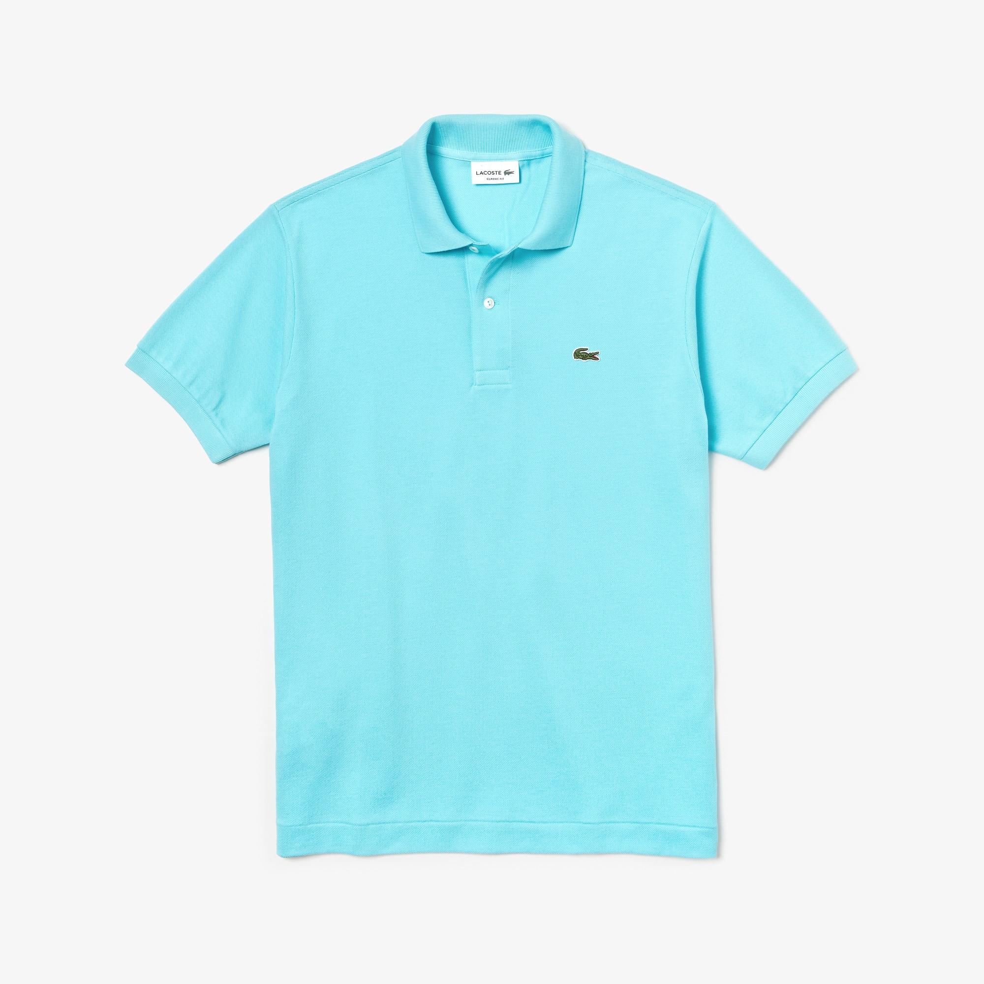 [L.12.12 컬렉션] 라코스테 반팔 폴로 Lacoste Mens L.12.12 Polo,Turquoise - D4J