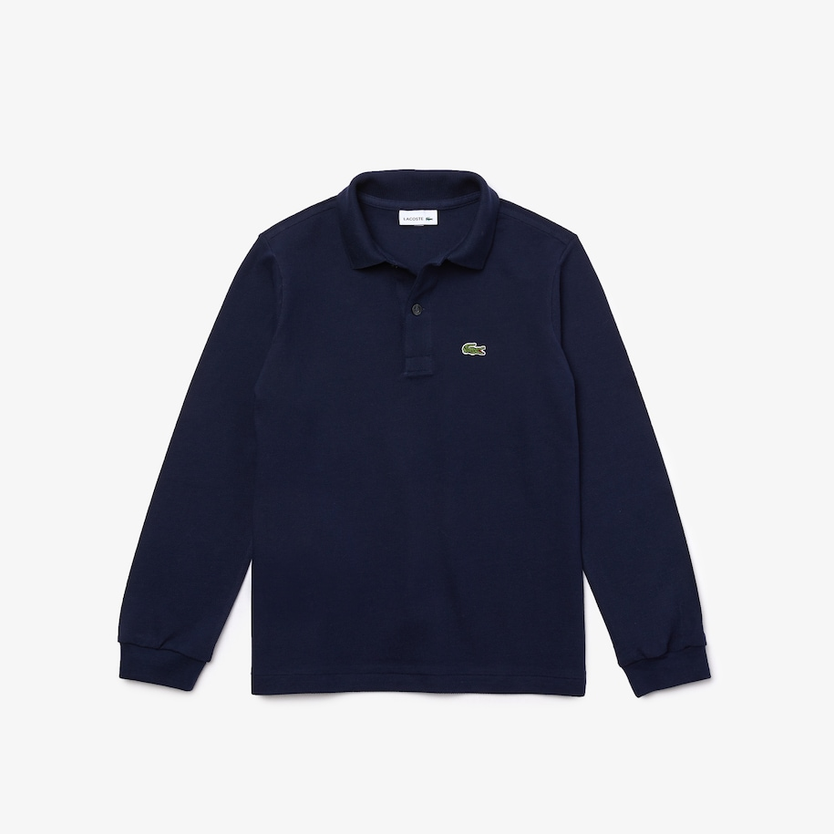 Boys' Lacoste Regular Fit Petit Piqué Polo Shirt