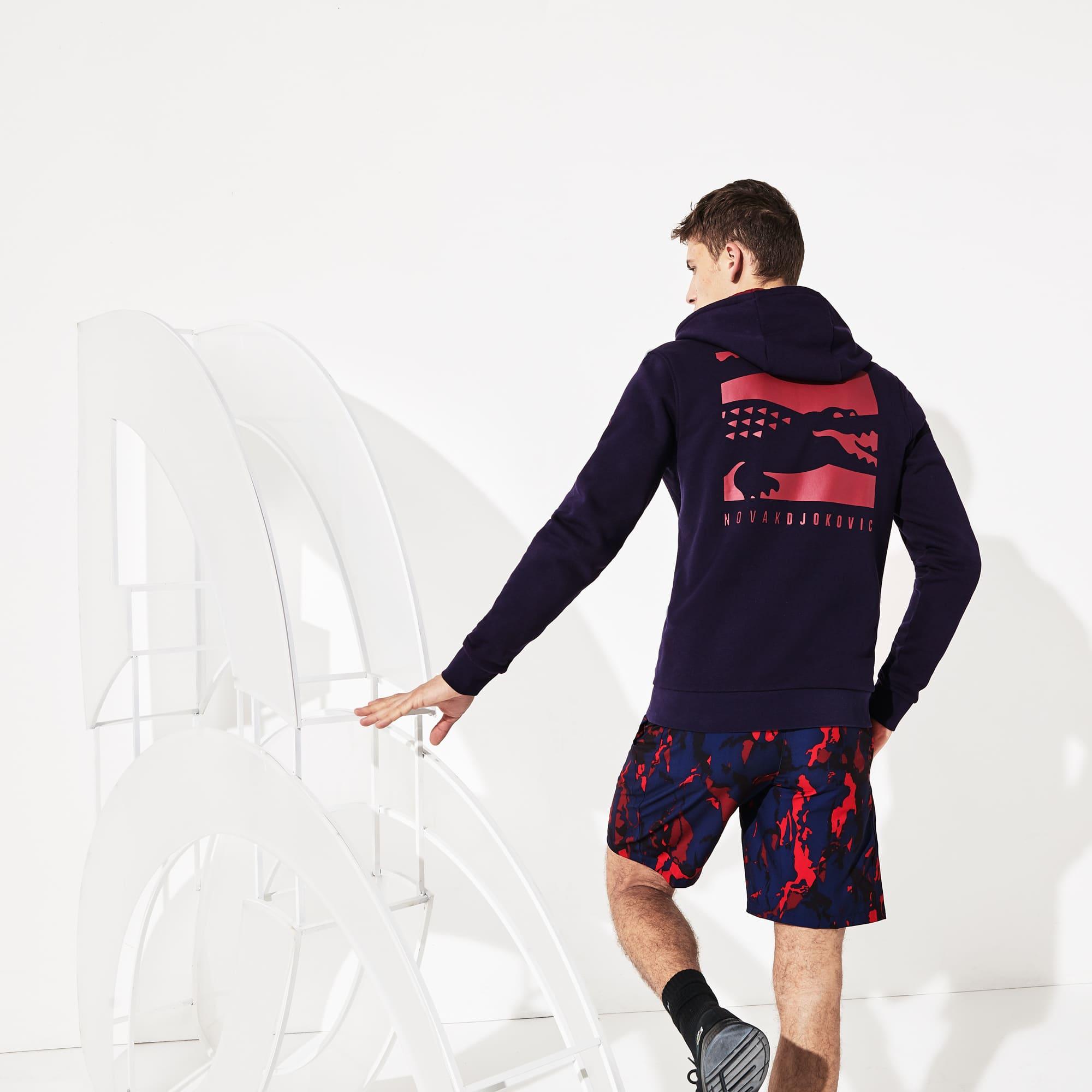 Lacoste Tops Men's SPORT Novak Djokovic Croc Logo Sweatshirt
