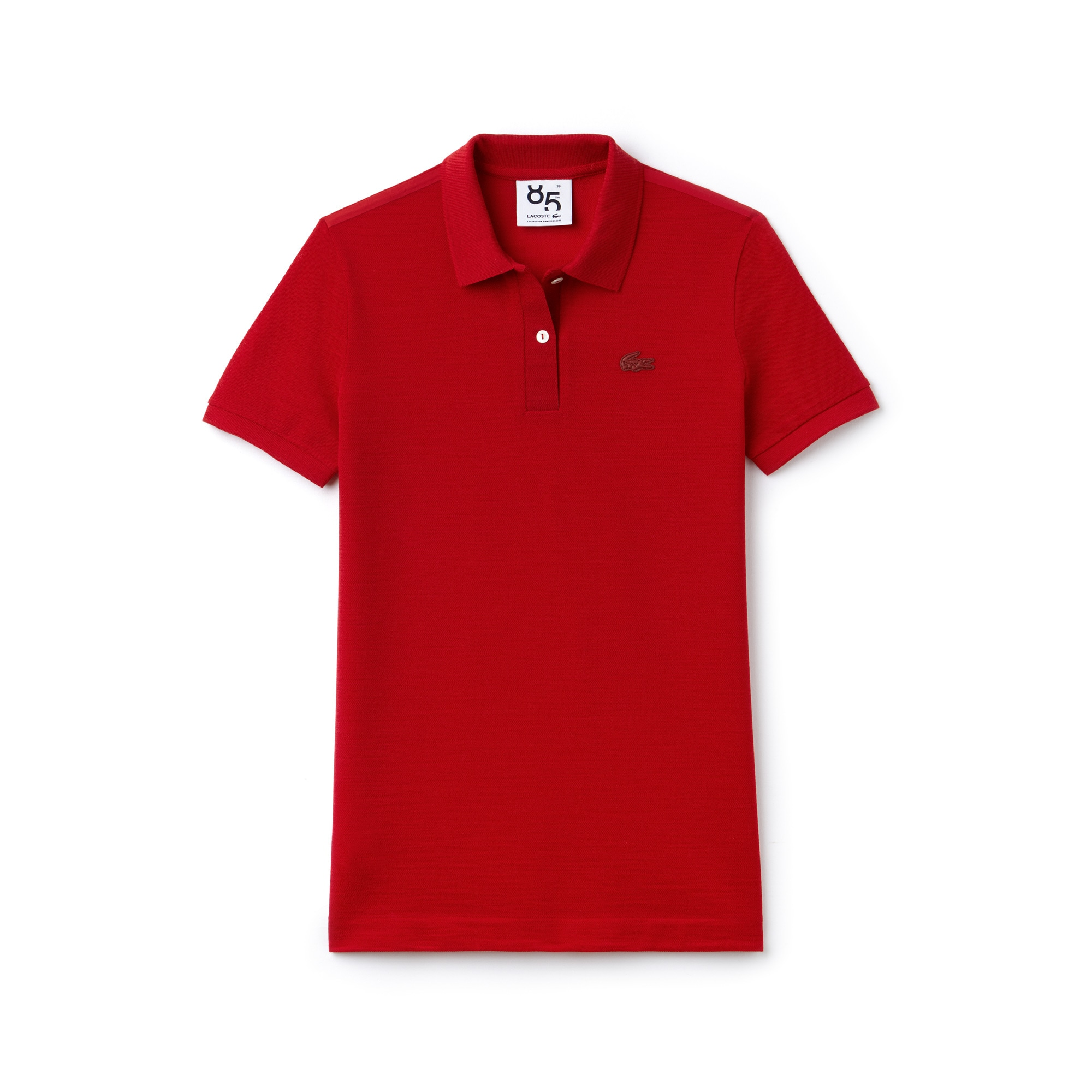 Women's Lacoste Limited Edition Anniversaire 85 Ans Classic Fit Wool Piqué Polo