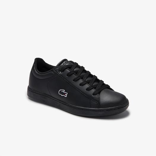 라코스테 운동화 Lacoste Childrens Carnaby Evo Lace-up Mesh-lined Synthetic Sneakers