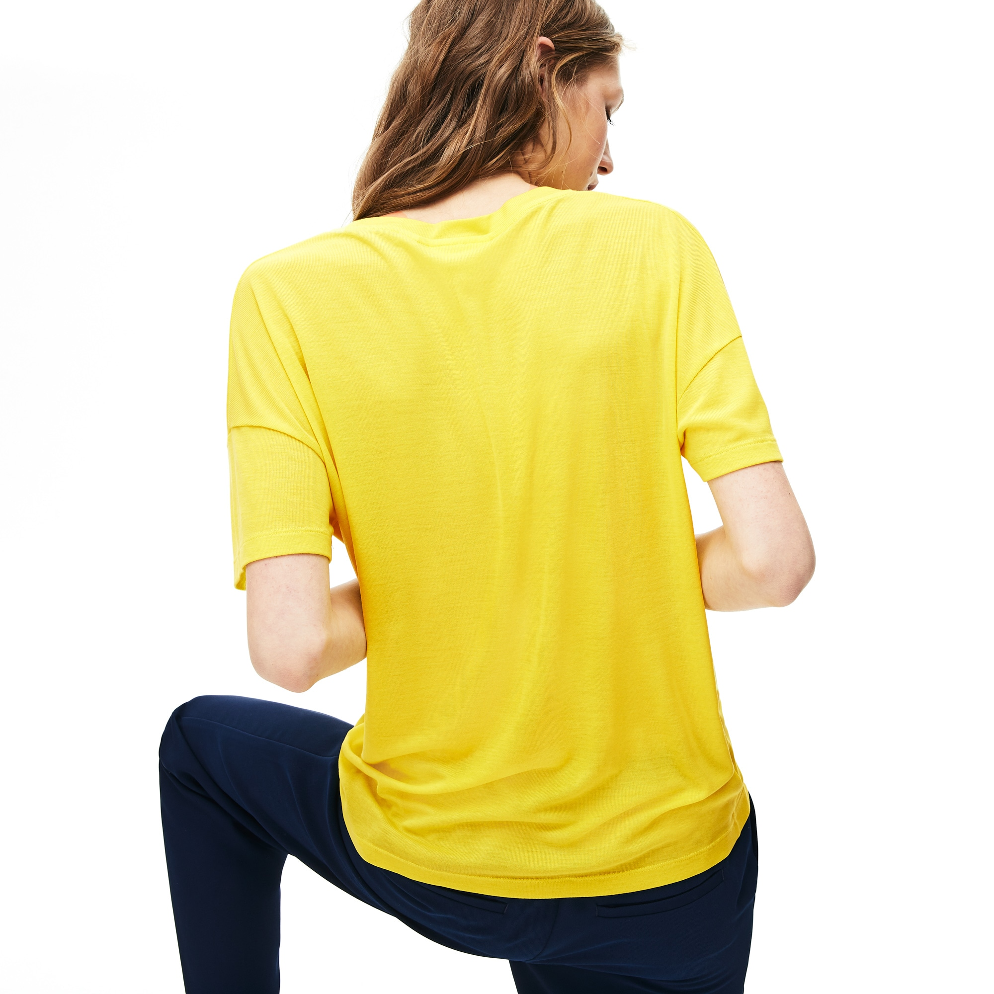 Women's Motion Lightweight Ribbed Lyocell T-Shirt