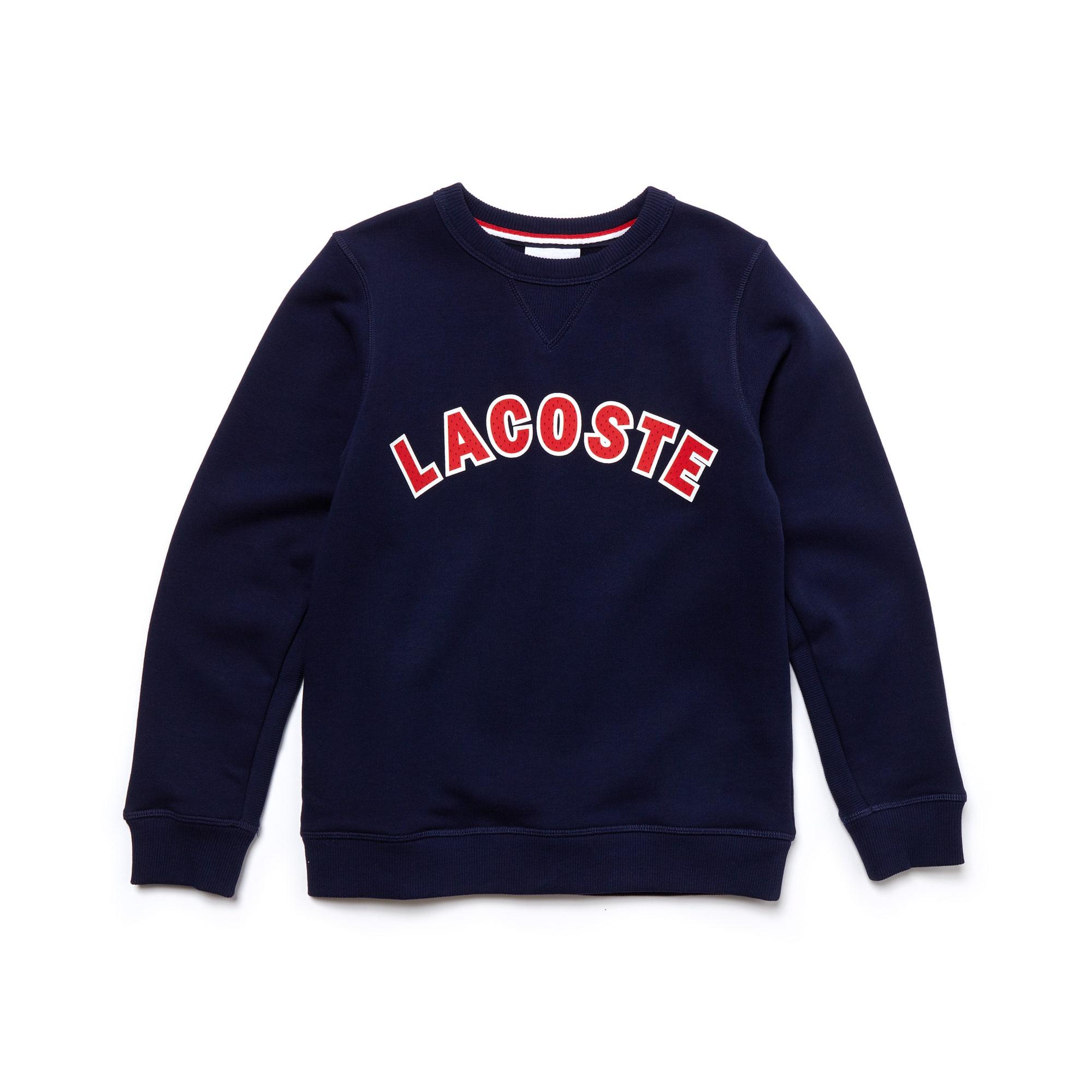 Kid's Crew Neck Fleece Sweatshirt