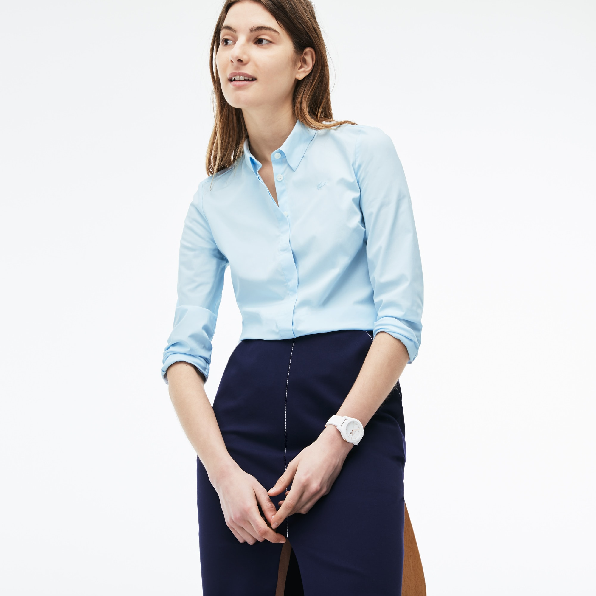 Women's Slim Fit Stretch Shirt