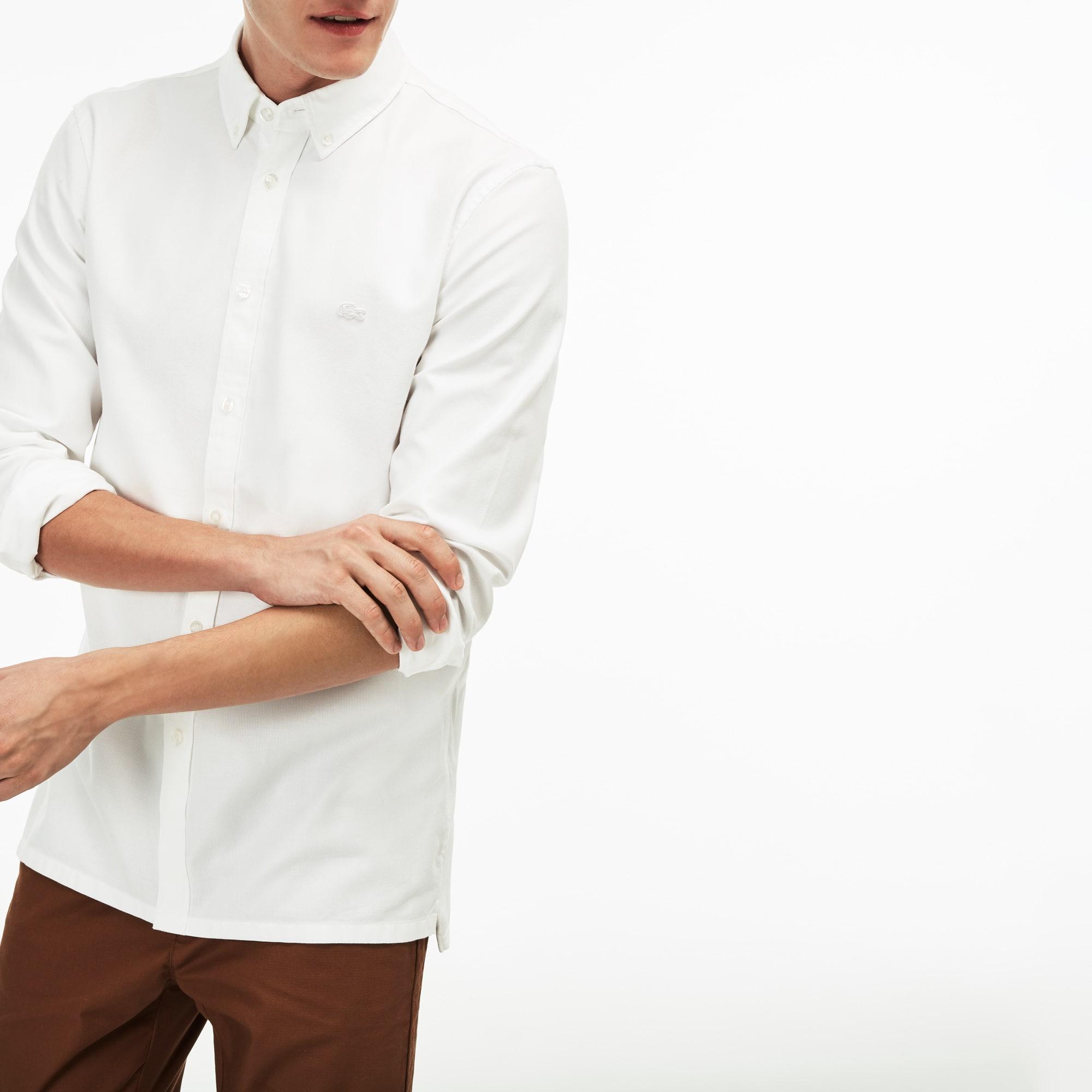 Men's Slim Fit MOTION Piqué Shirt
