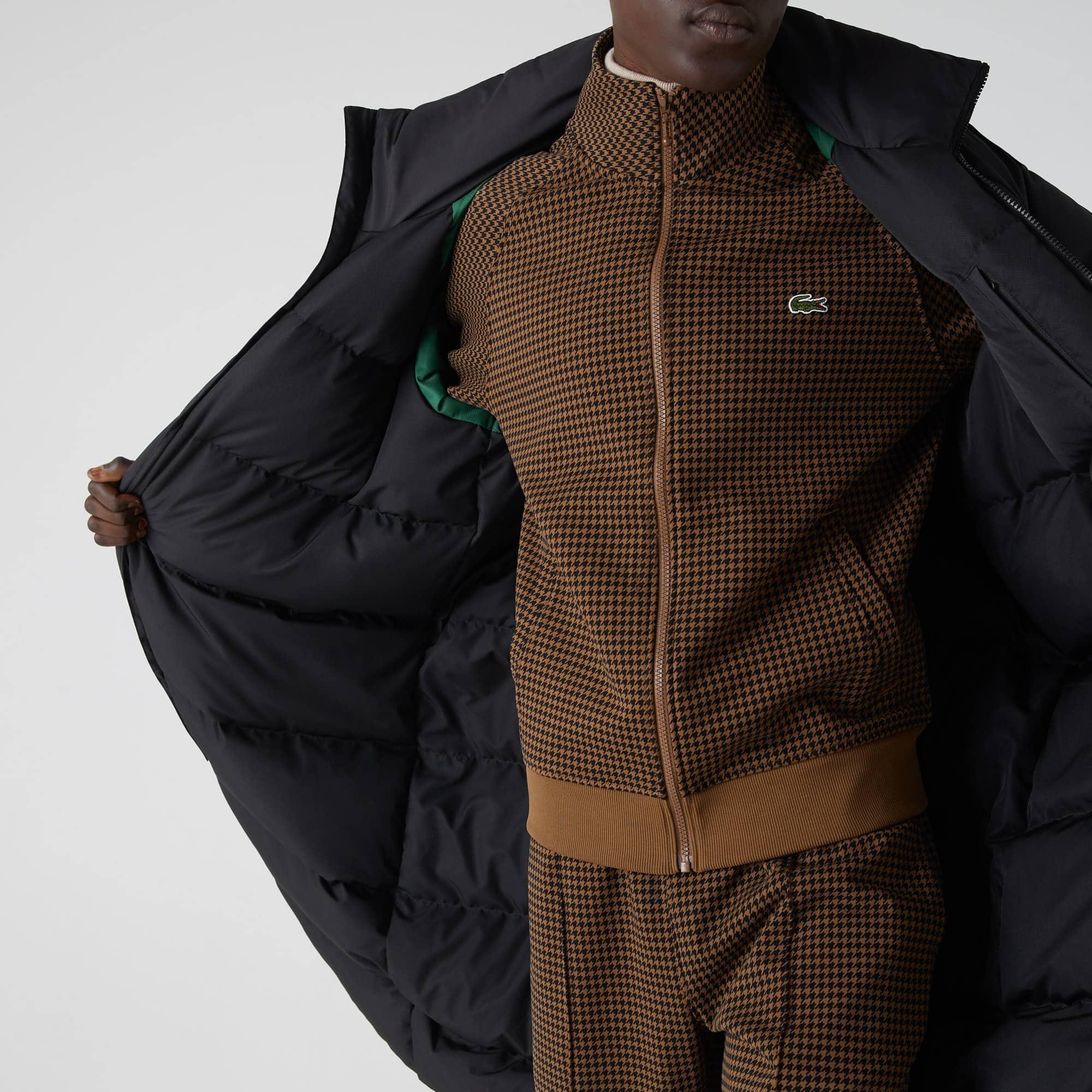£ 160 Lacoste Pour Homme À Capuche Coupe-vent Veste//manteau en taffetas FR 48//50 S//M RRP: