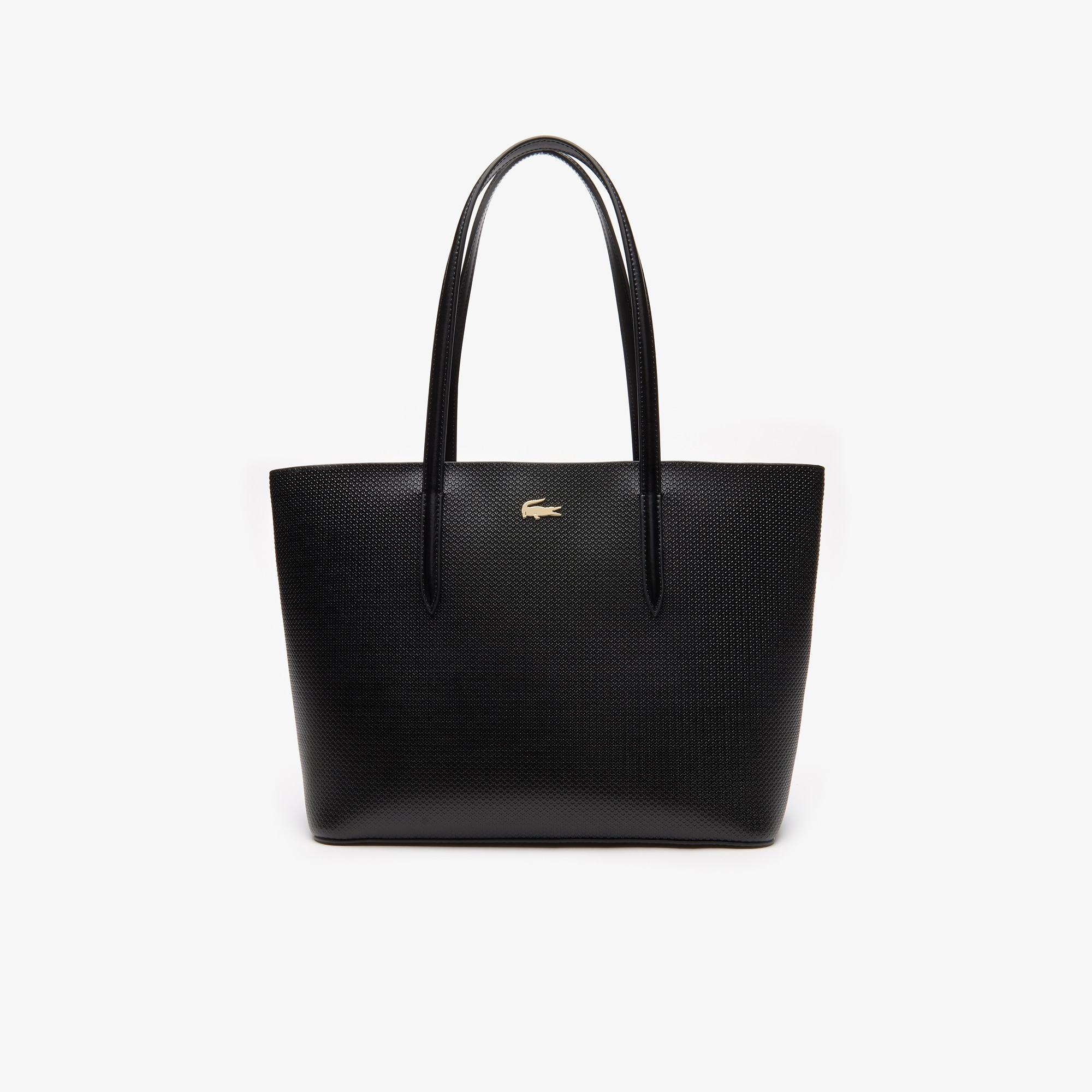 Lacoste Womens Chantaco Leather Tote Bag