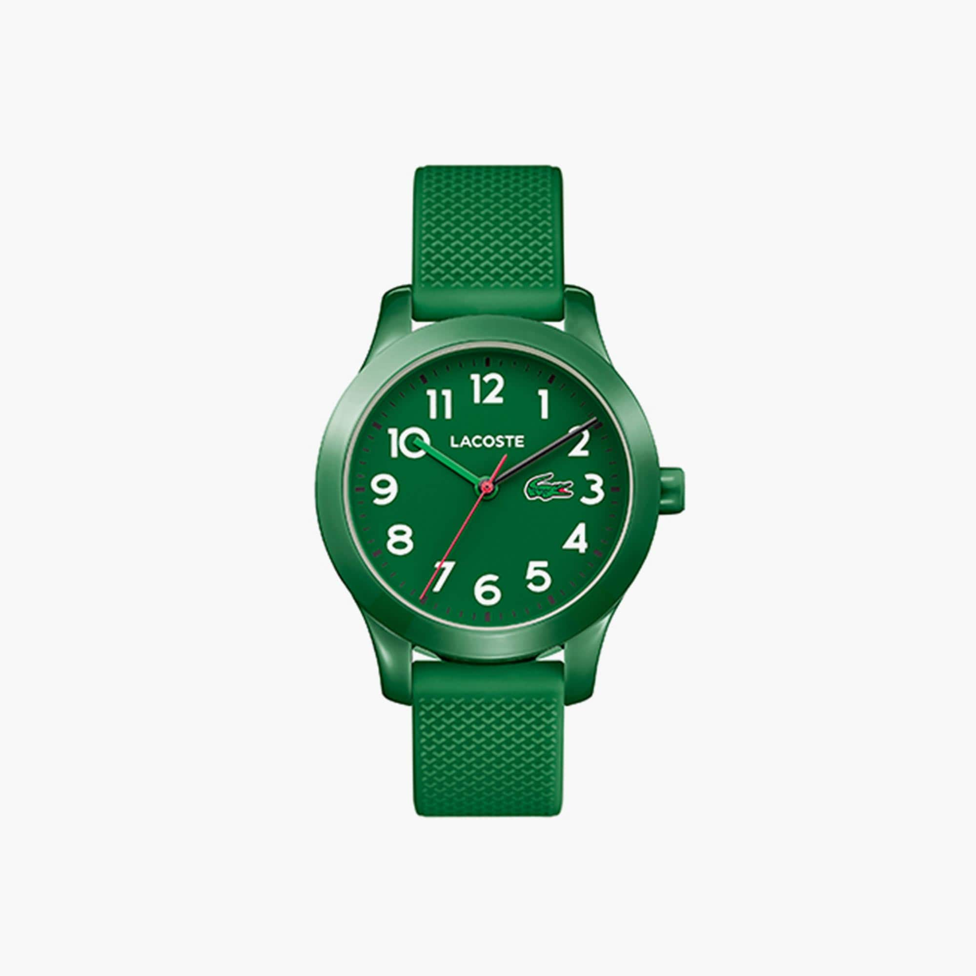 Kids Lacoste.12.12 Green Silicon Strap
