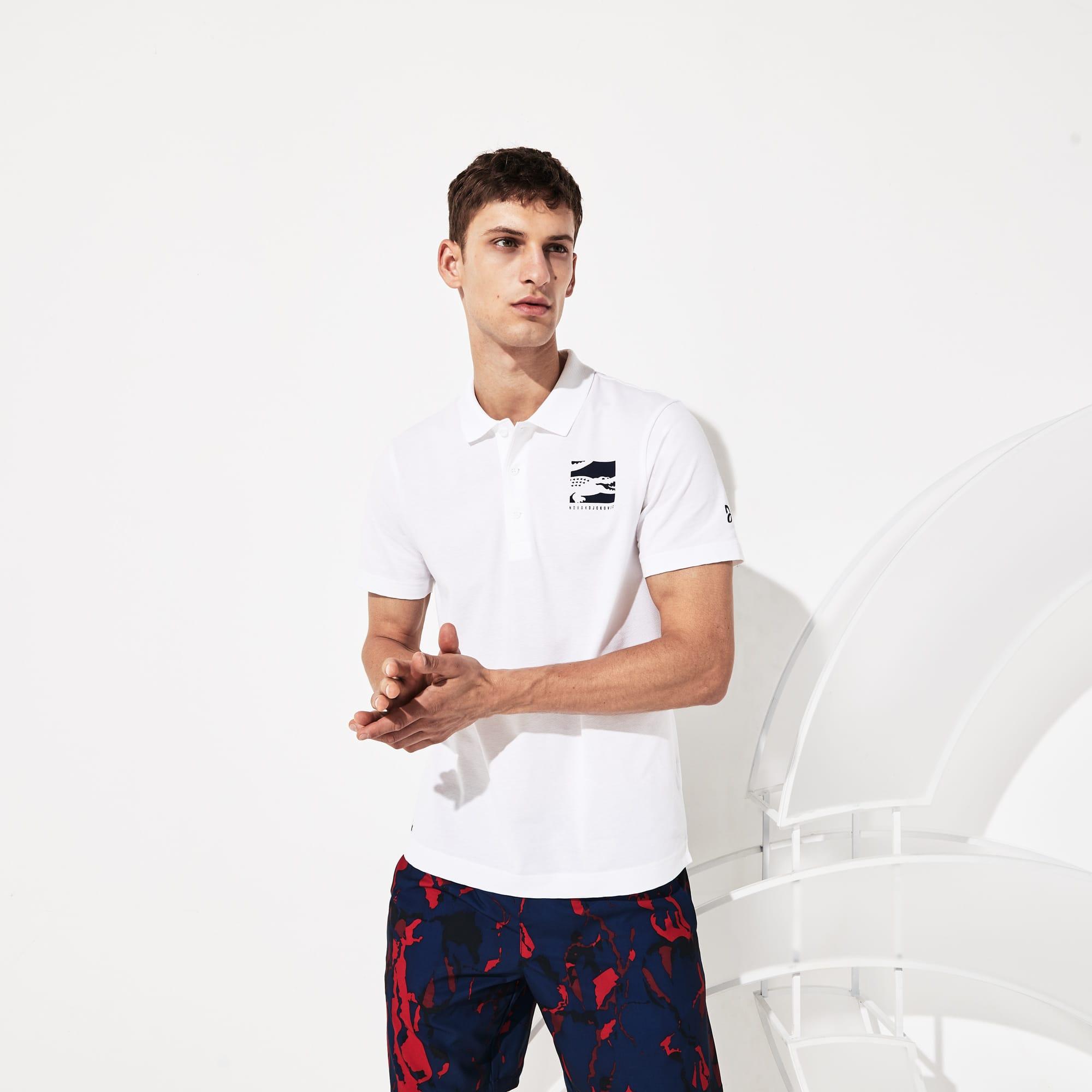 Men's SPORT Novak Djokovic Lightweight Cotton Polo