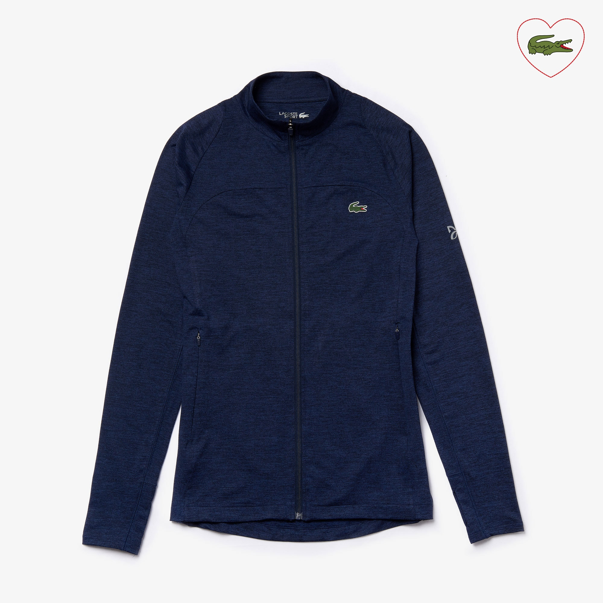 Men's Lacoste SPORT x Novak Djokovic Stretch Zippered Jacket