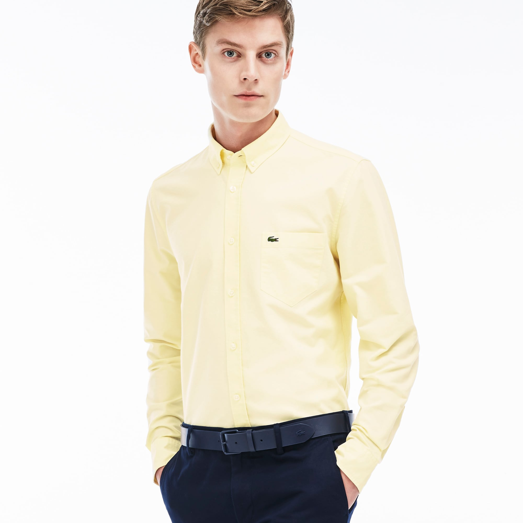 Men's Regular Fit Oxford Woven Shirt