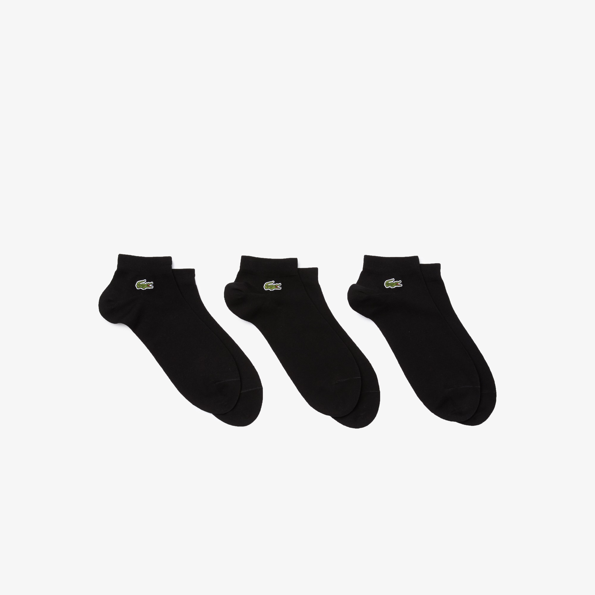Men's Three-pack of SPORT low-cut socks in solid jersey