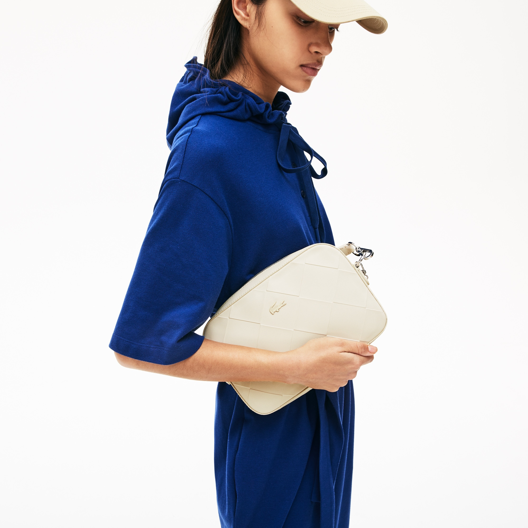 Lacoste Womens Quilted Crossover Bag