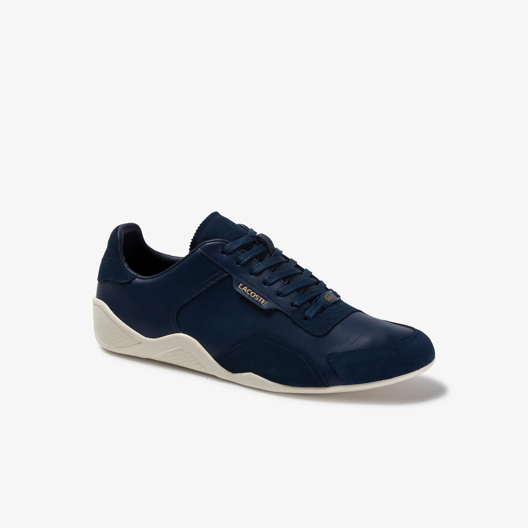 Men's Hapona Leather and Suede Sneakers