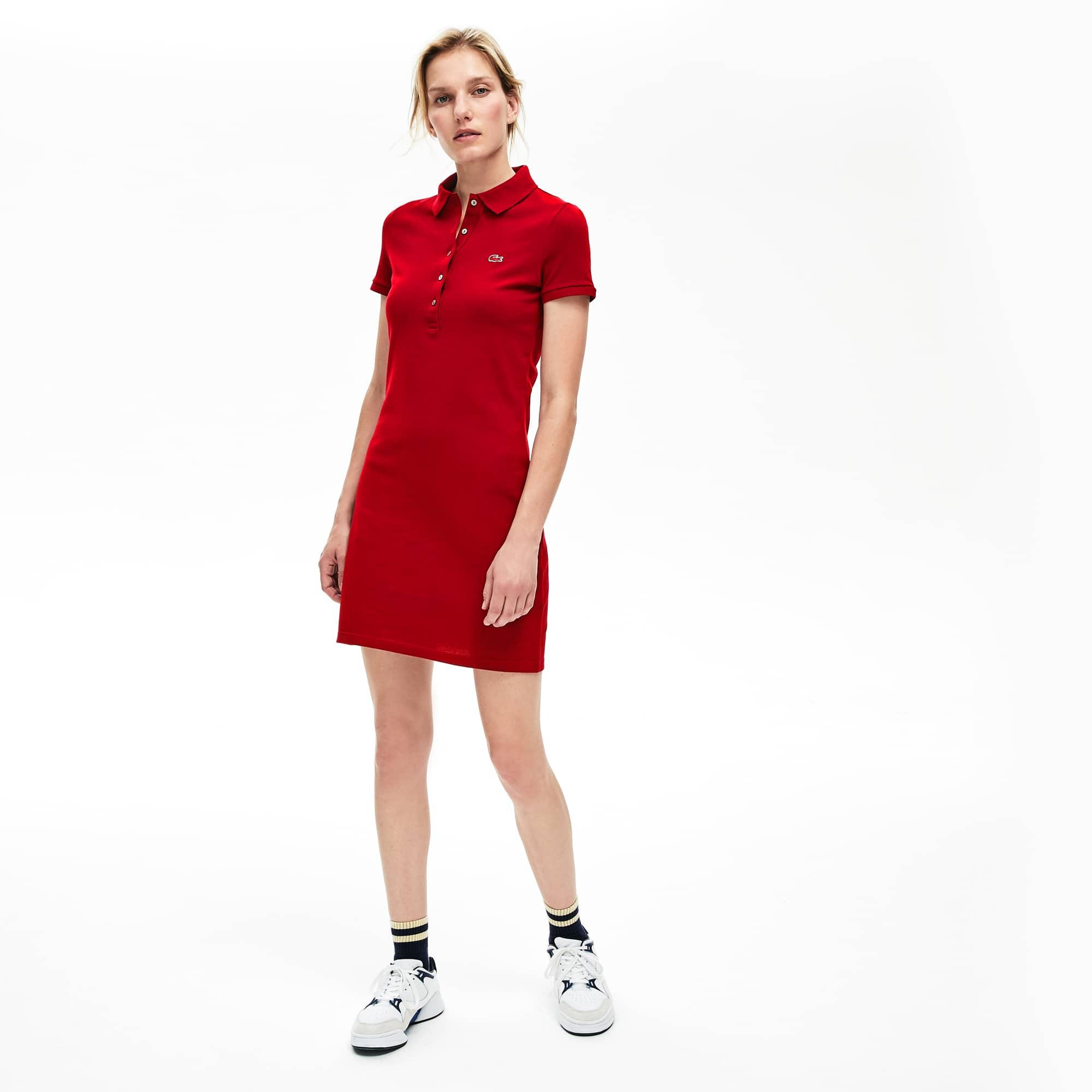 Women S Stretch Cotton Mini Piqué Polo
