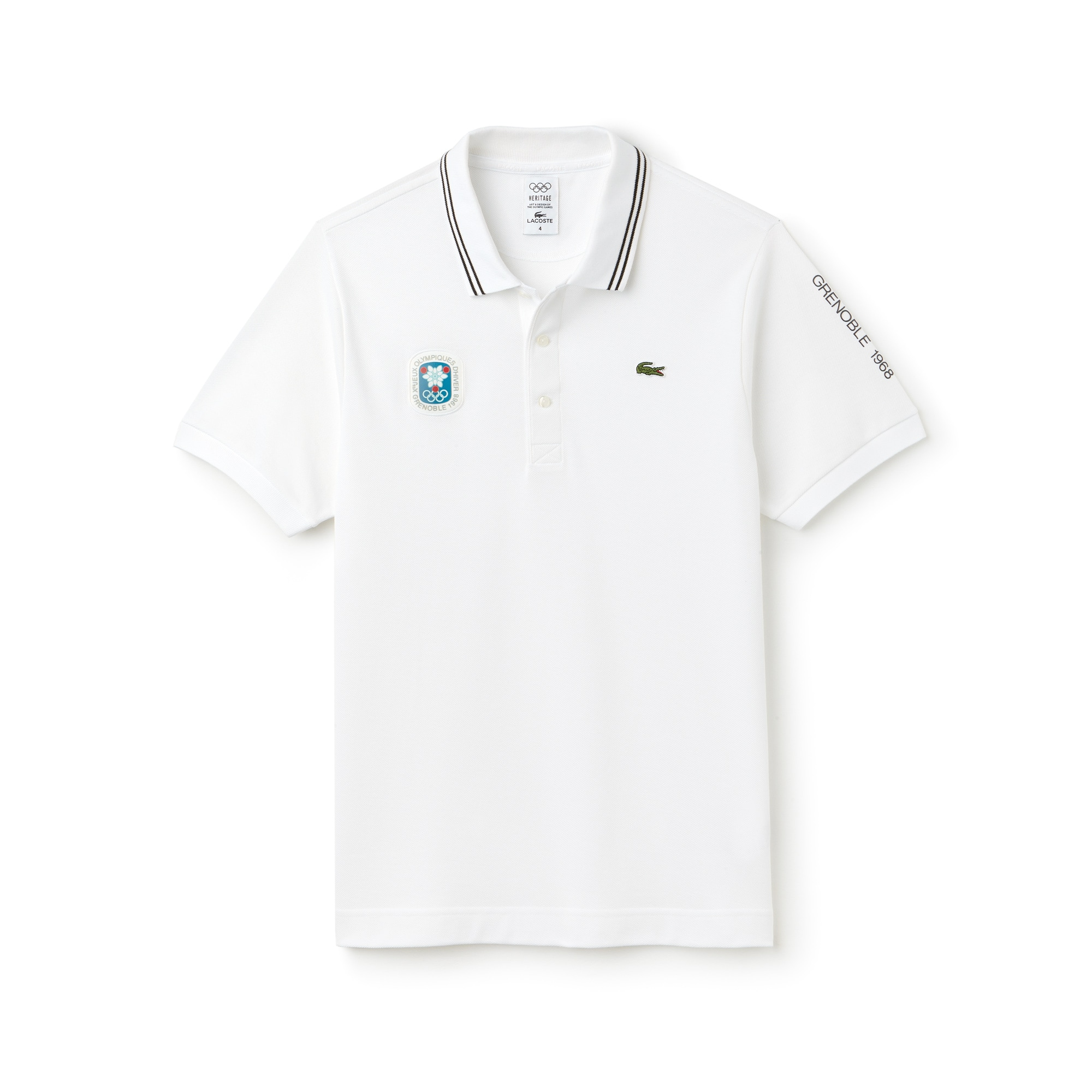 Olympic Heritage Collection by Lacoste Petit Piqué Polo