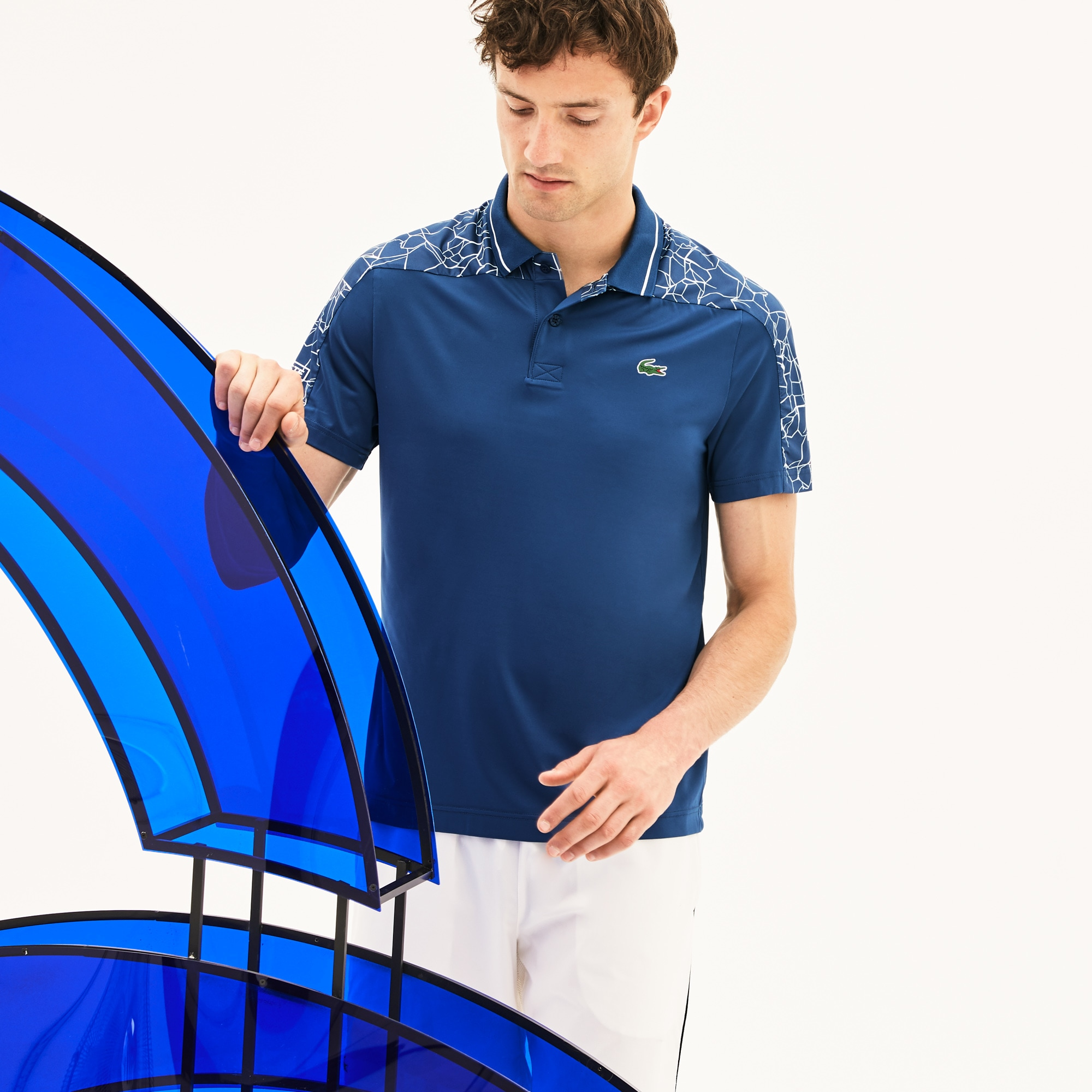 Men's SPORT Stretch Technical Jersey Polo -  x Novak Djokovic On Court Premium Edition