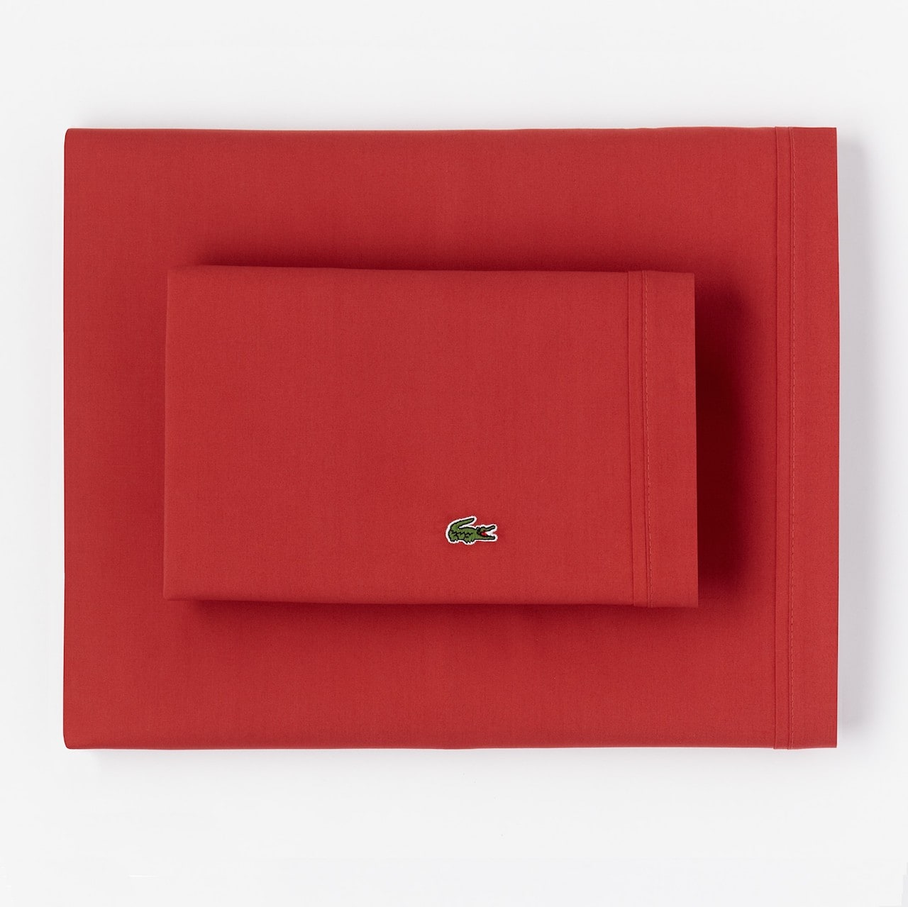 Percale Garnet King Pillowcase