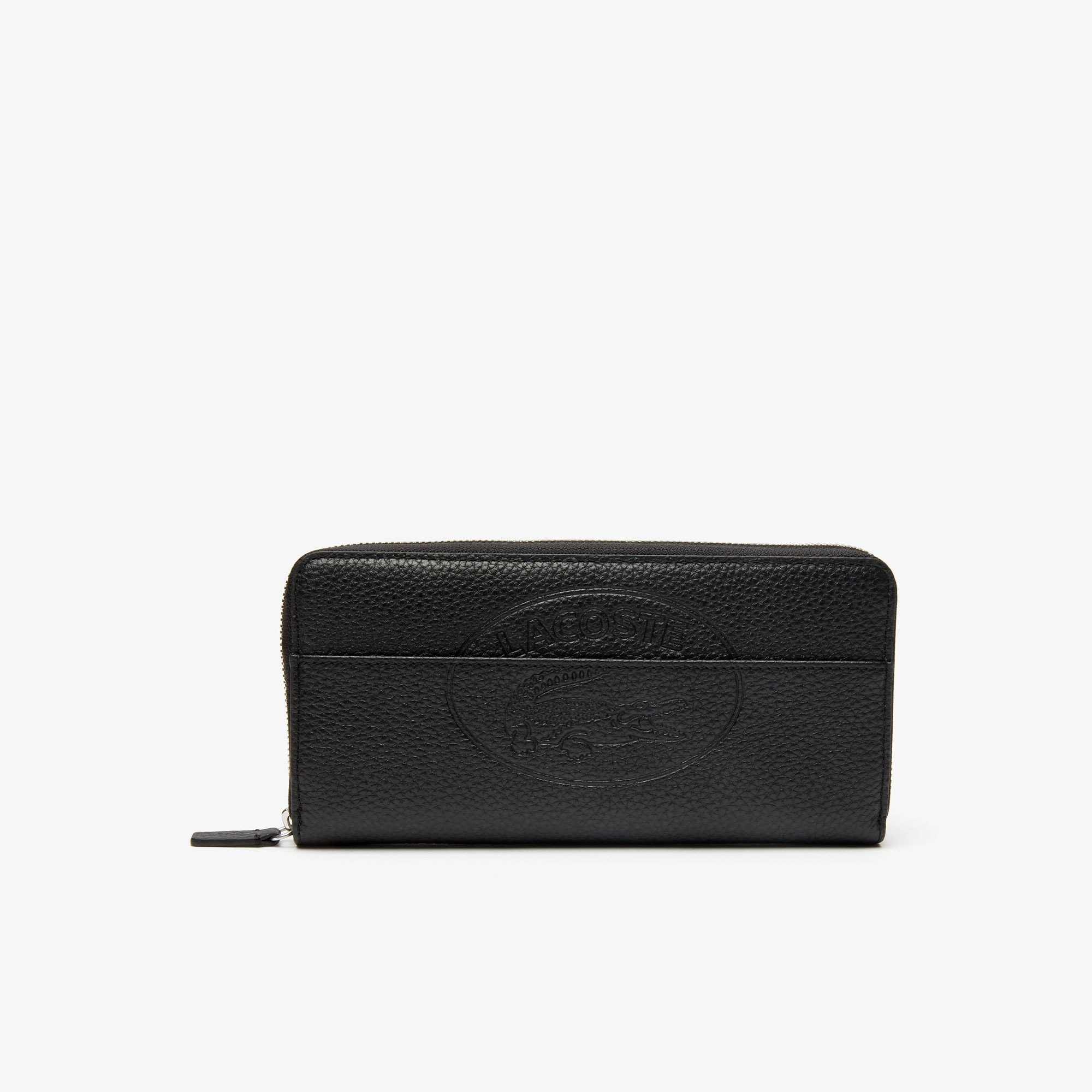 Women's Croco Crew Grained Leather Zip Wallet