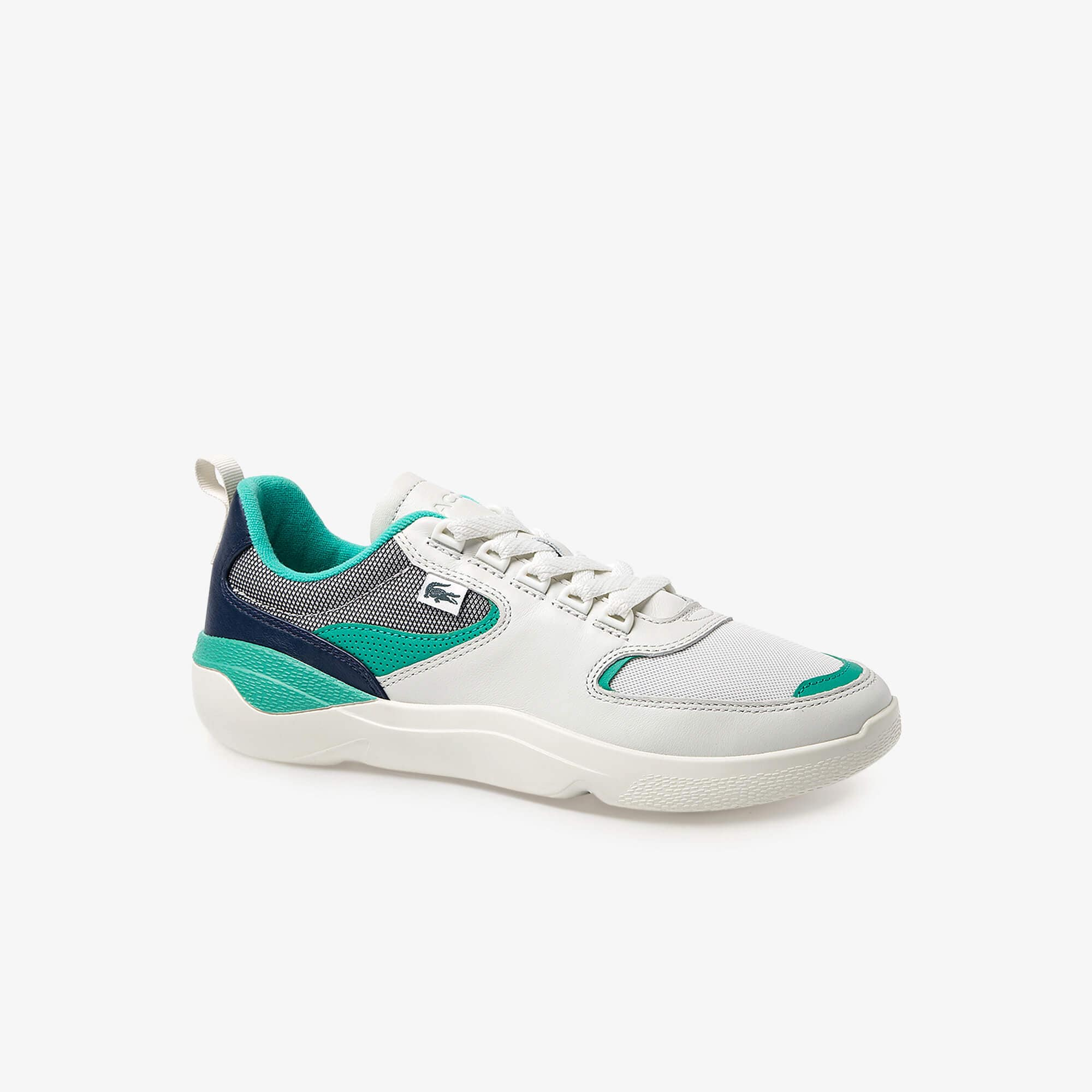 Men's Wildcard Leather and Textile Sneakers
