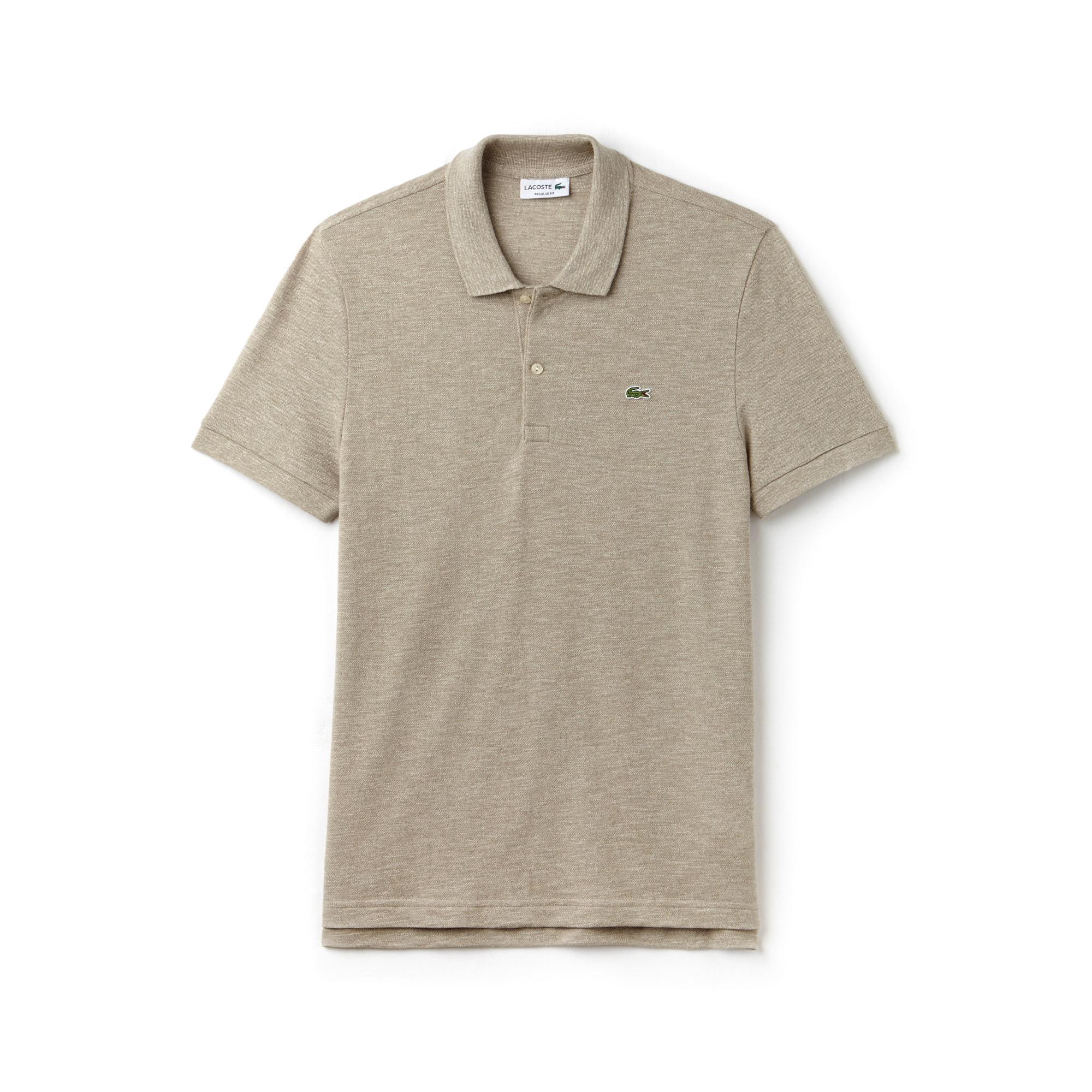 Men's Regular Fit Piqué Polo