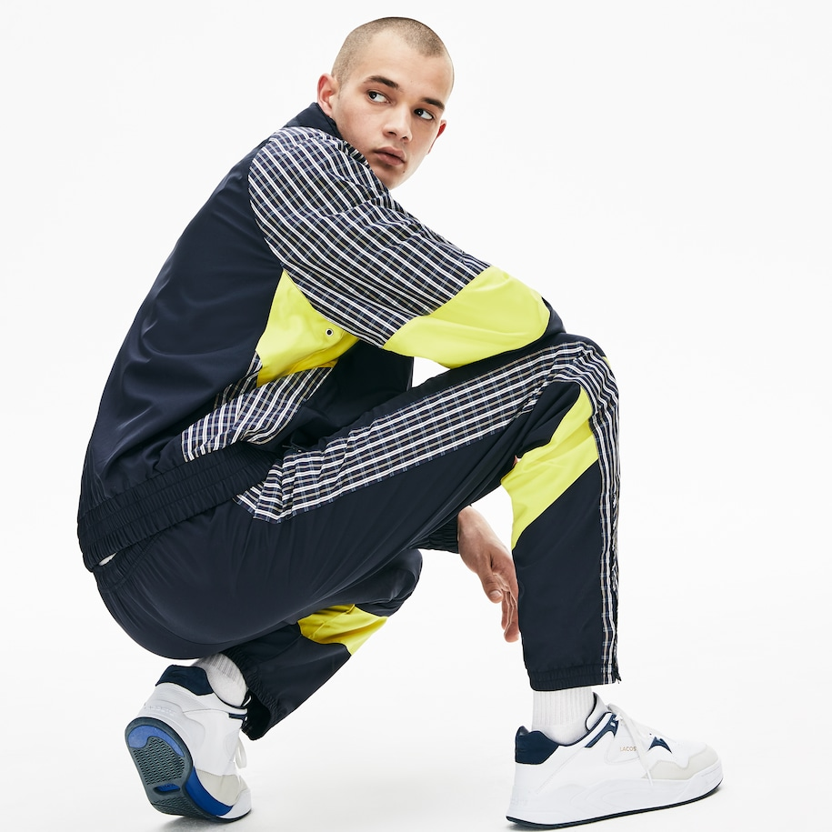 Men's LIVE Patchwork Trackpants