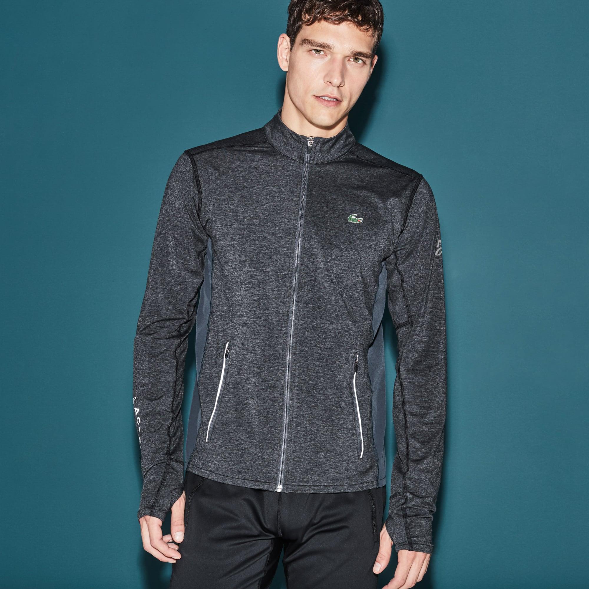 Men's Sweatshirt Lacoste Collection for Novak Djokovic - Exclusive Blue Edition