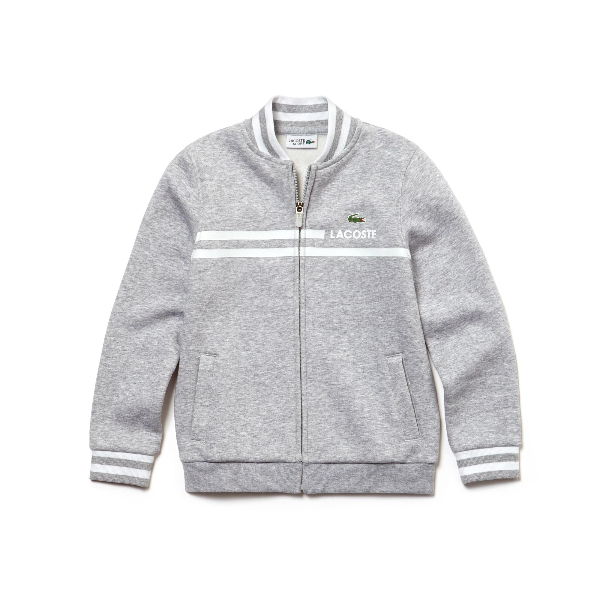 Boys' SPORT Zippered Tennis Sweatshirt
