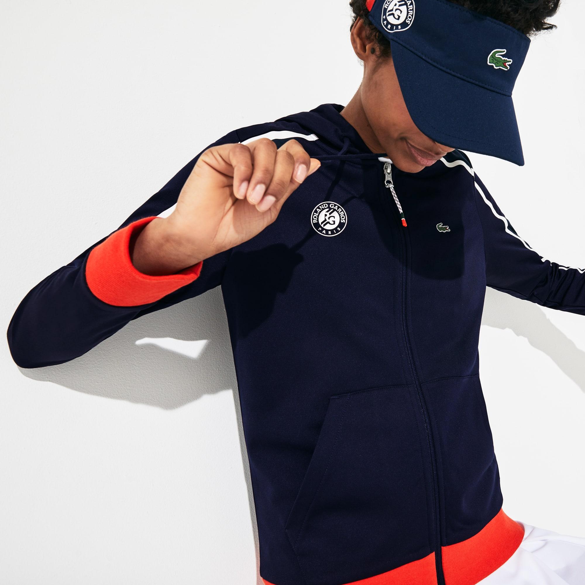 라코스테 스포츠 '롤랑가로스 에디션' 후드 자켓 Lacoste Womens SPORT Roland Garros Hooded Zip-Up Jacket