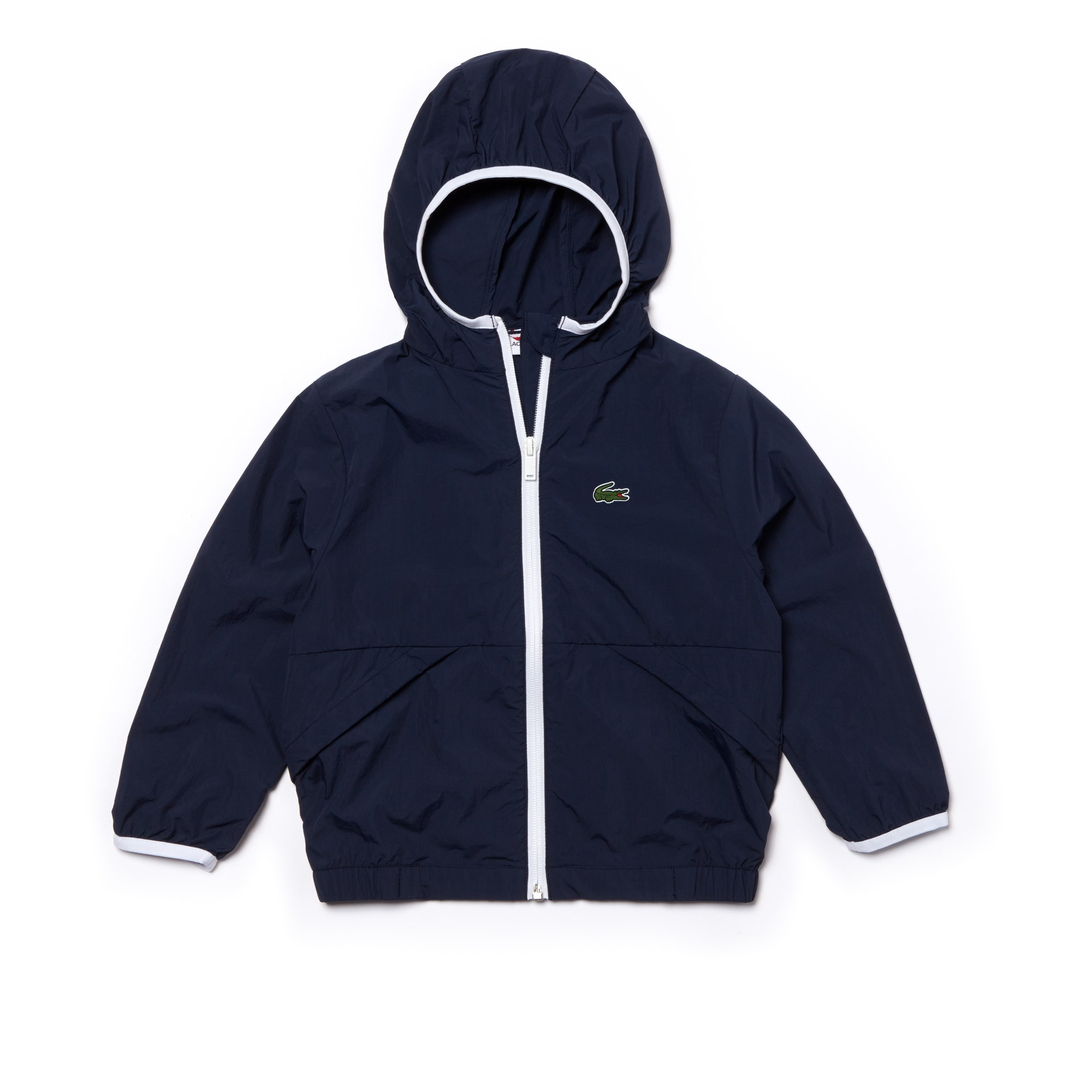 Boys' Contrast Accents Windbreaker